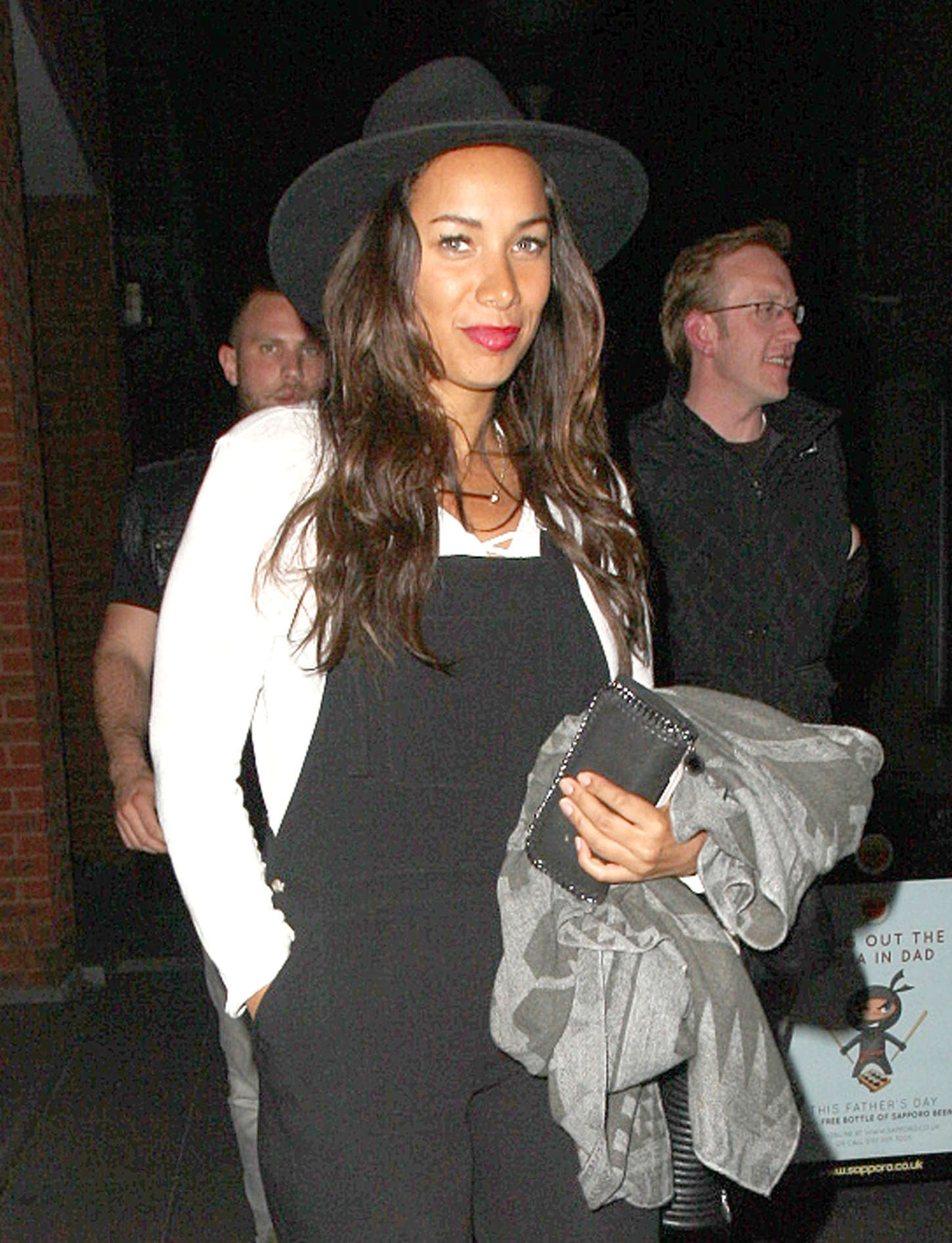 Leona Lewis Out for dinner in Liverpool