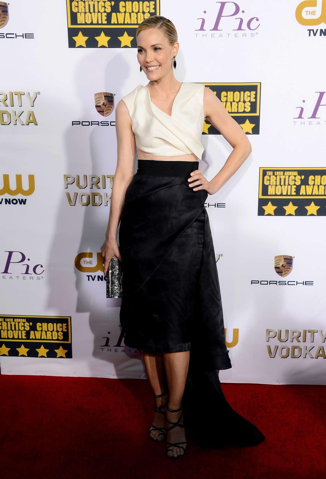 Leslie Bibb Annual Critics Choice Movie Awards in Santa Monica