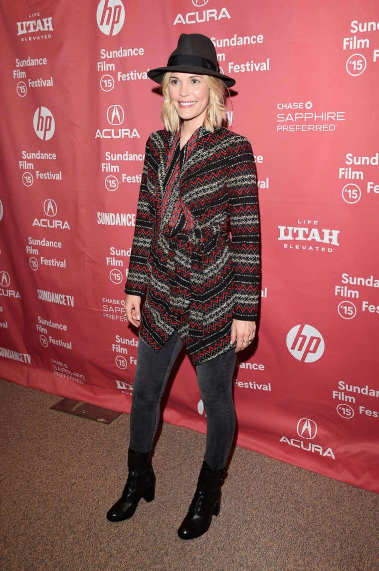Leslie Bibb Digging For Fire Premiere at Sundance Film Festival in Park City