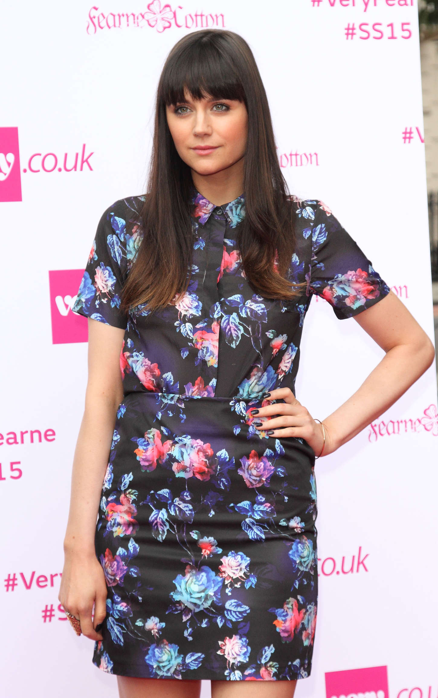 Lilah Parsons Fearne Cotton for Very.co.uk Photocall And Fashion Show in London