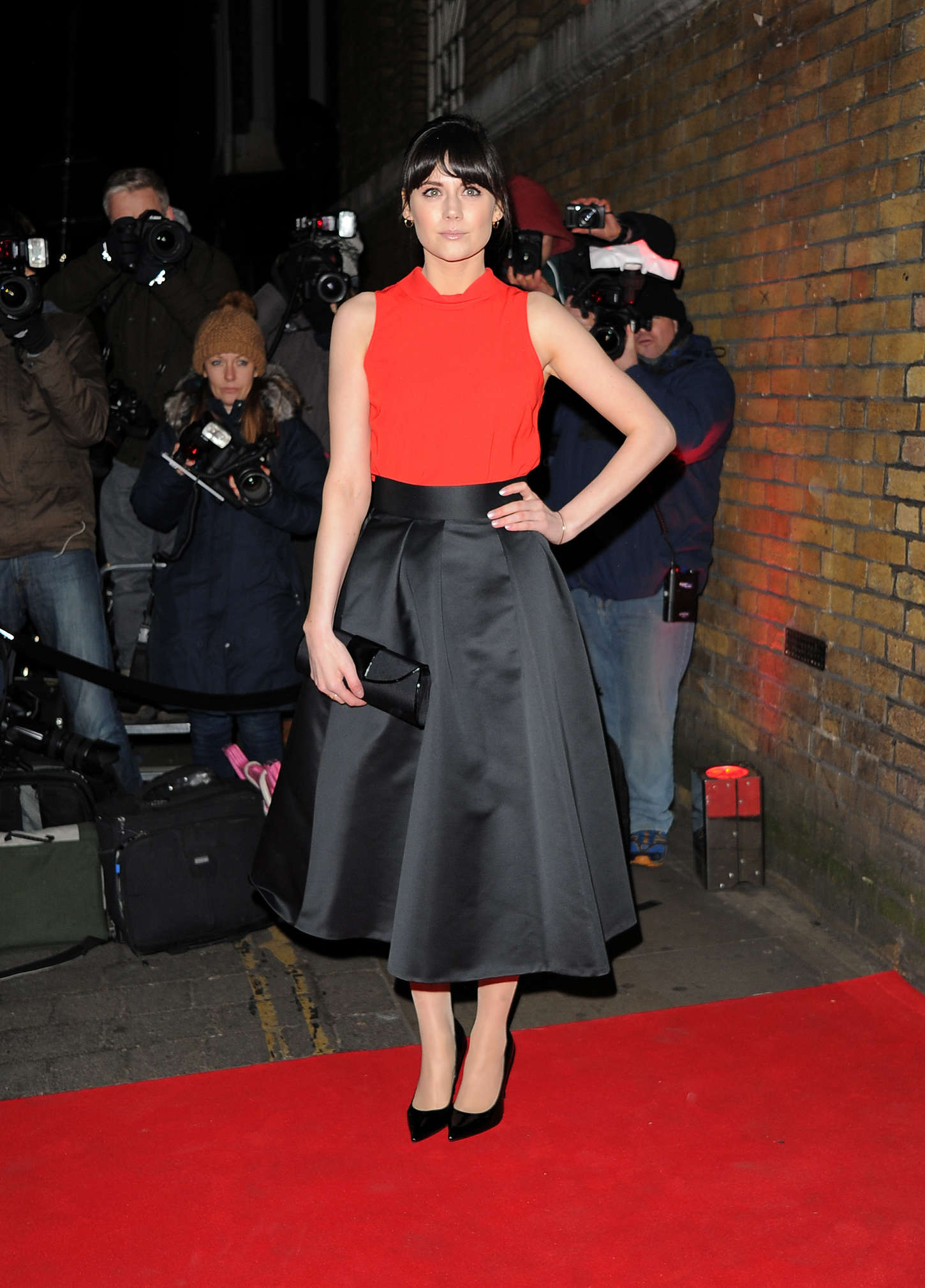 Lilah Parsons YSL Loves Your Lips Party in London