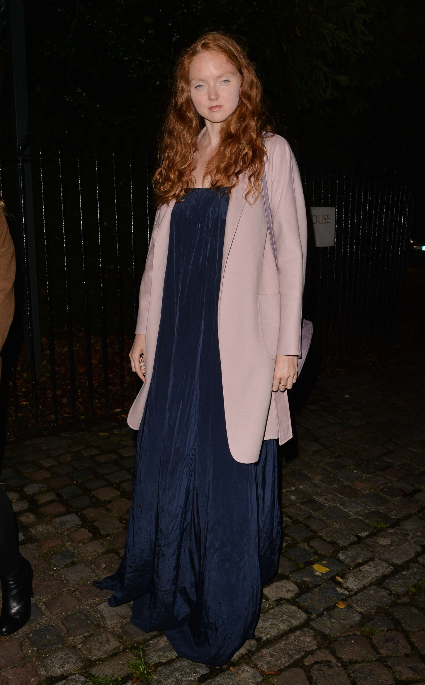 Lily Cole American Ambassadors Vogue Party during LFW in London