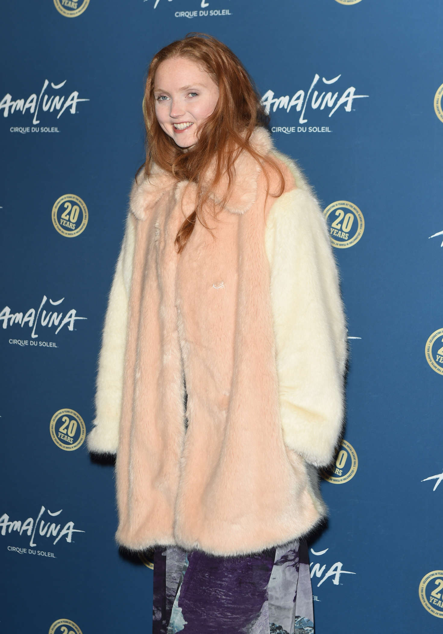Lily Cole Cirque du Soleil Amaluna Press Night in London