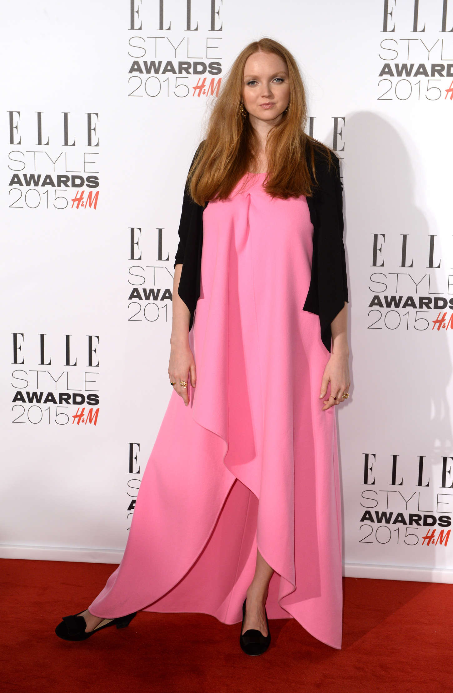 Lily Cole Elle Style Awards in London