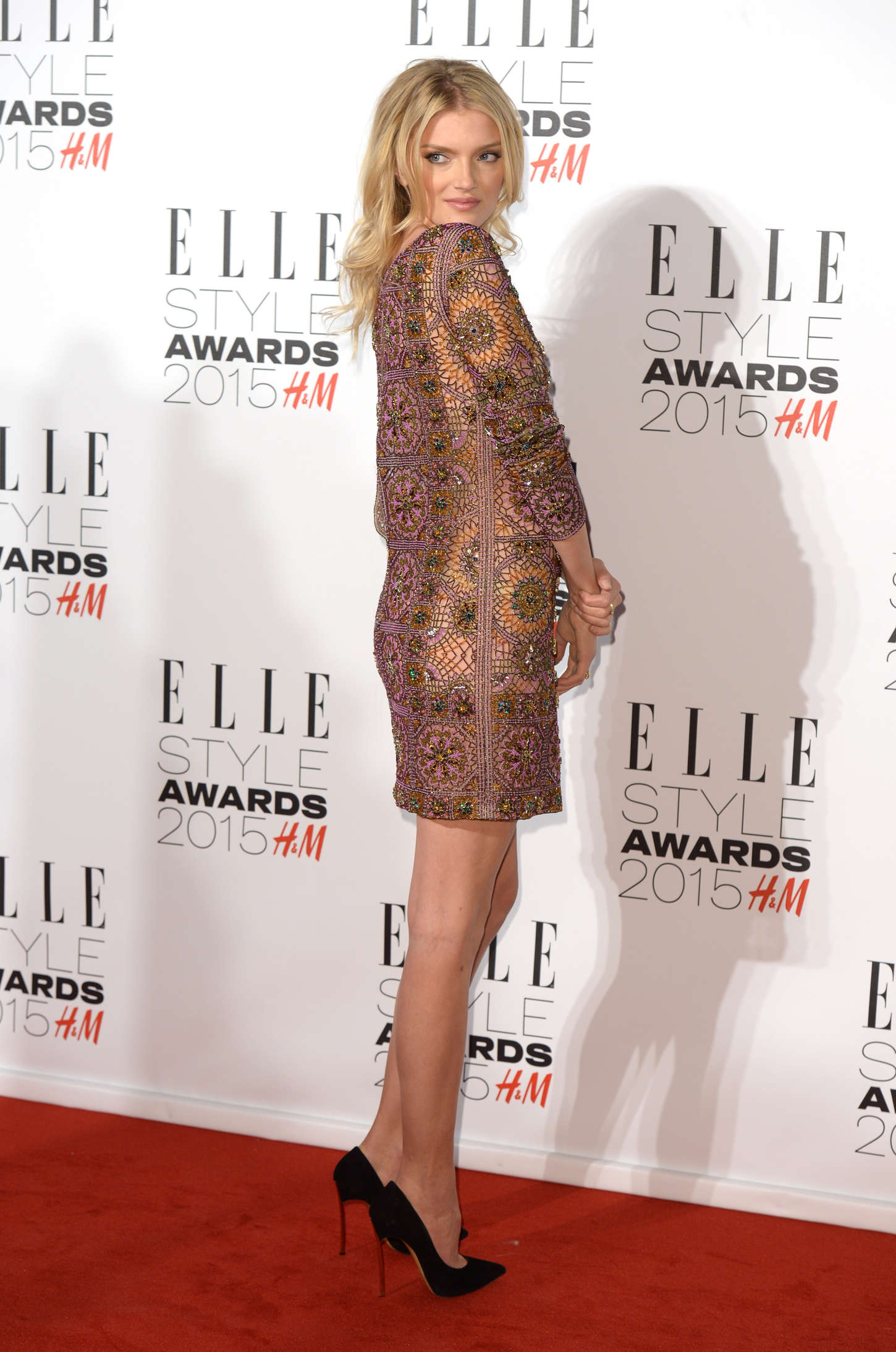Lily Donaldson Elle Style Awards in London