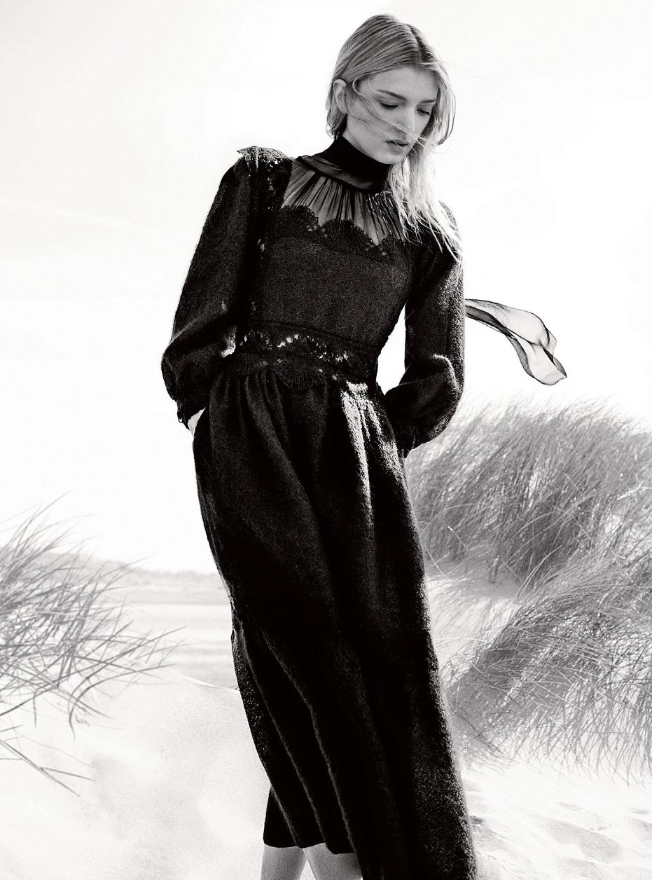 Lily Donaldson Harper s Bazaar UK Magazine