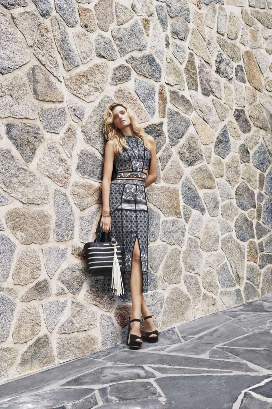 Lily Donaldson River Island Spring Summer Campaign