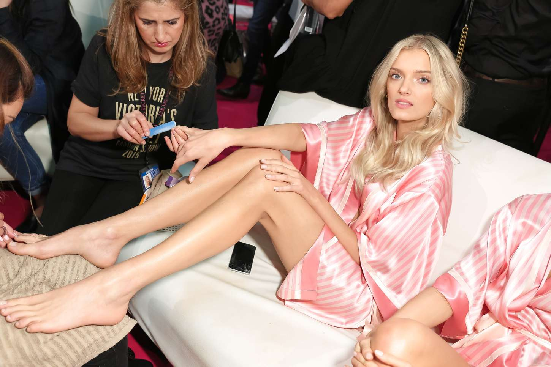 Lily Donaldson Victorias Secret Fashion Show in New York
