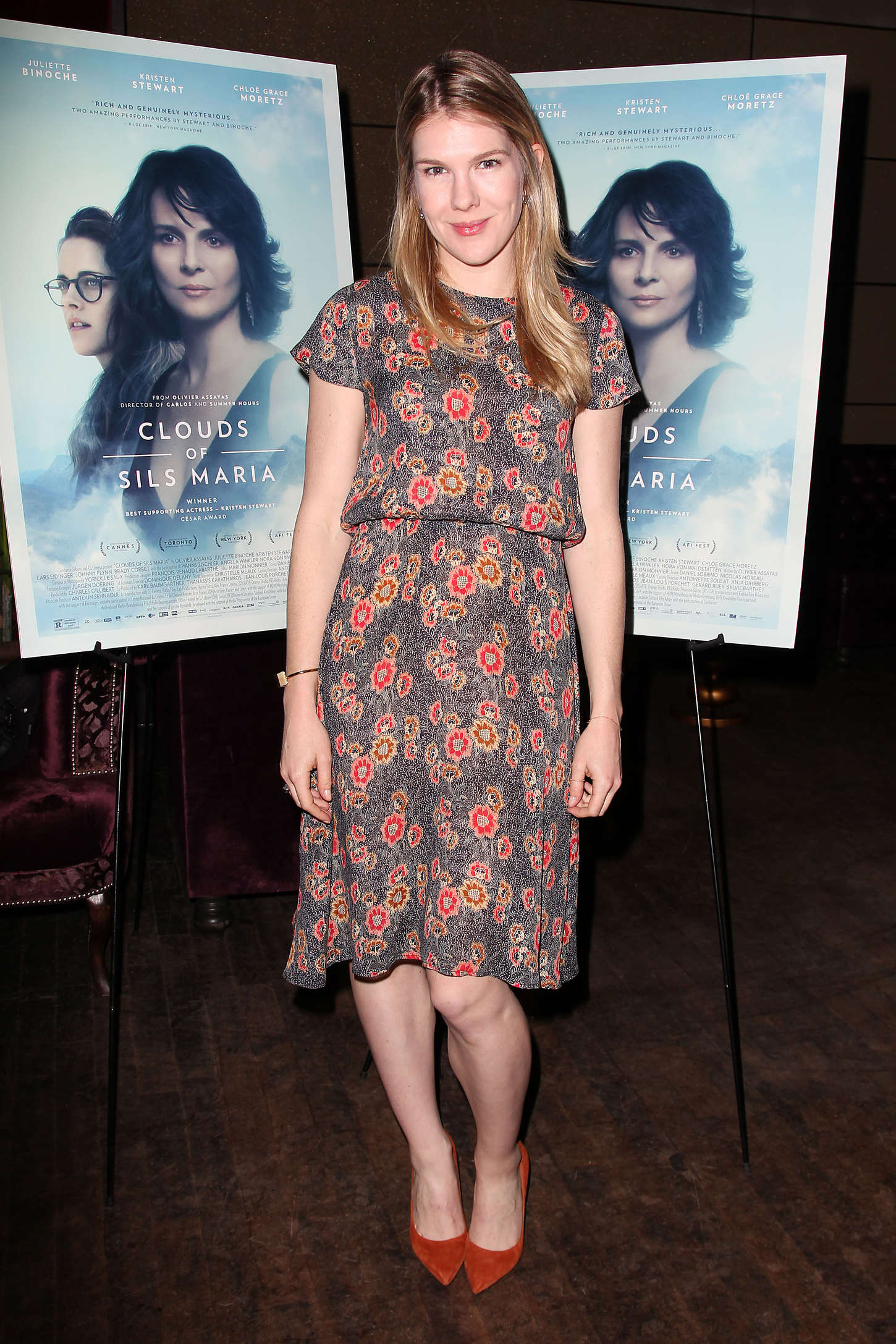 Lily Rabe Clouds of Sils Maria Theater Communtiy Screening in New York