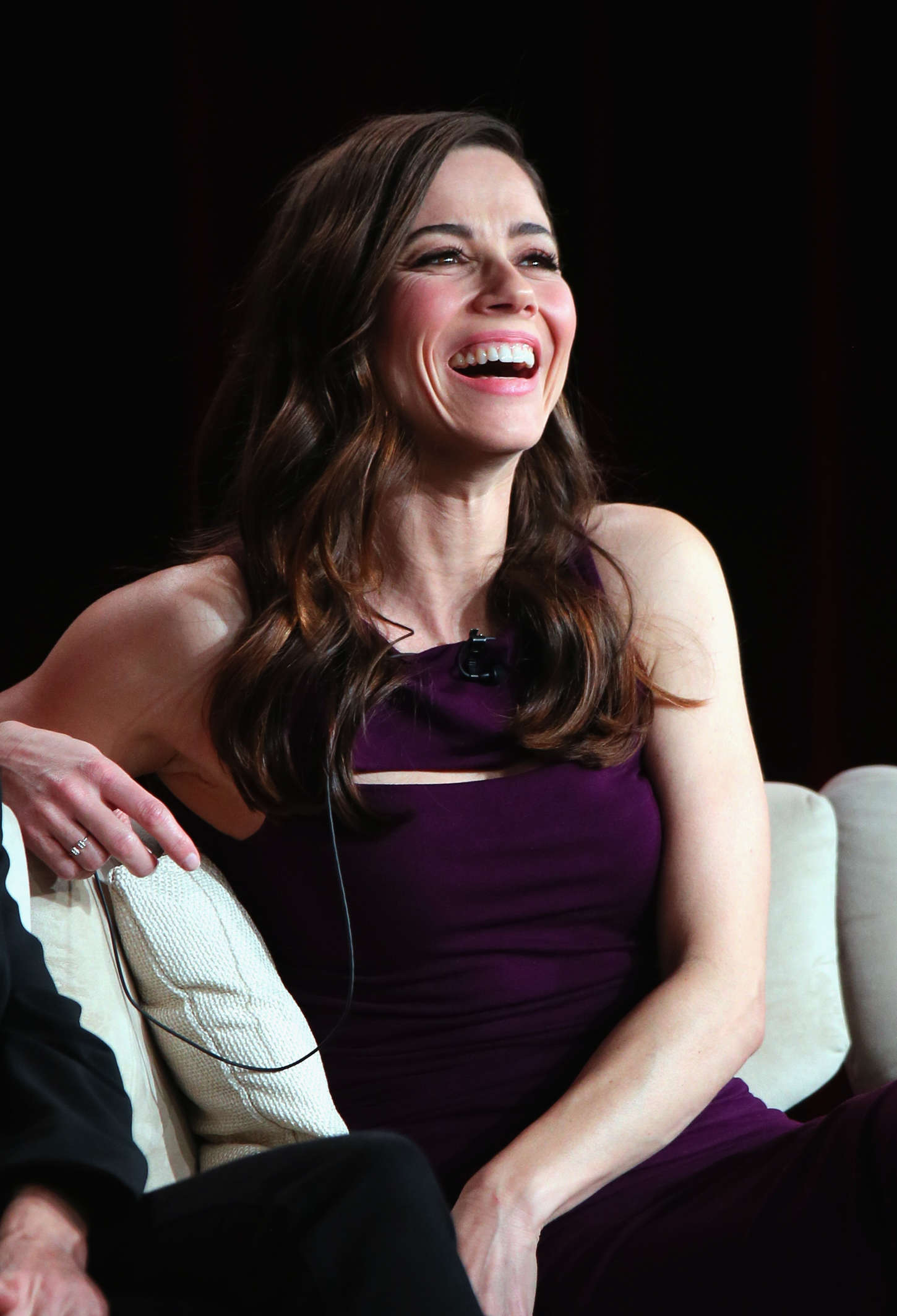 Linda Cardellini Bloodline panel at Netflix TCA Press Tour in Pasadena
