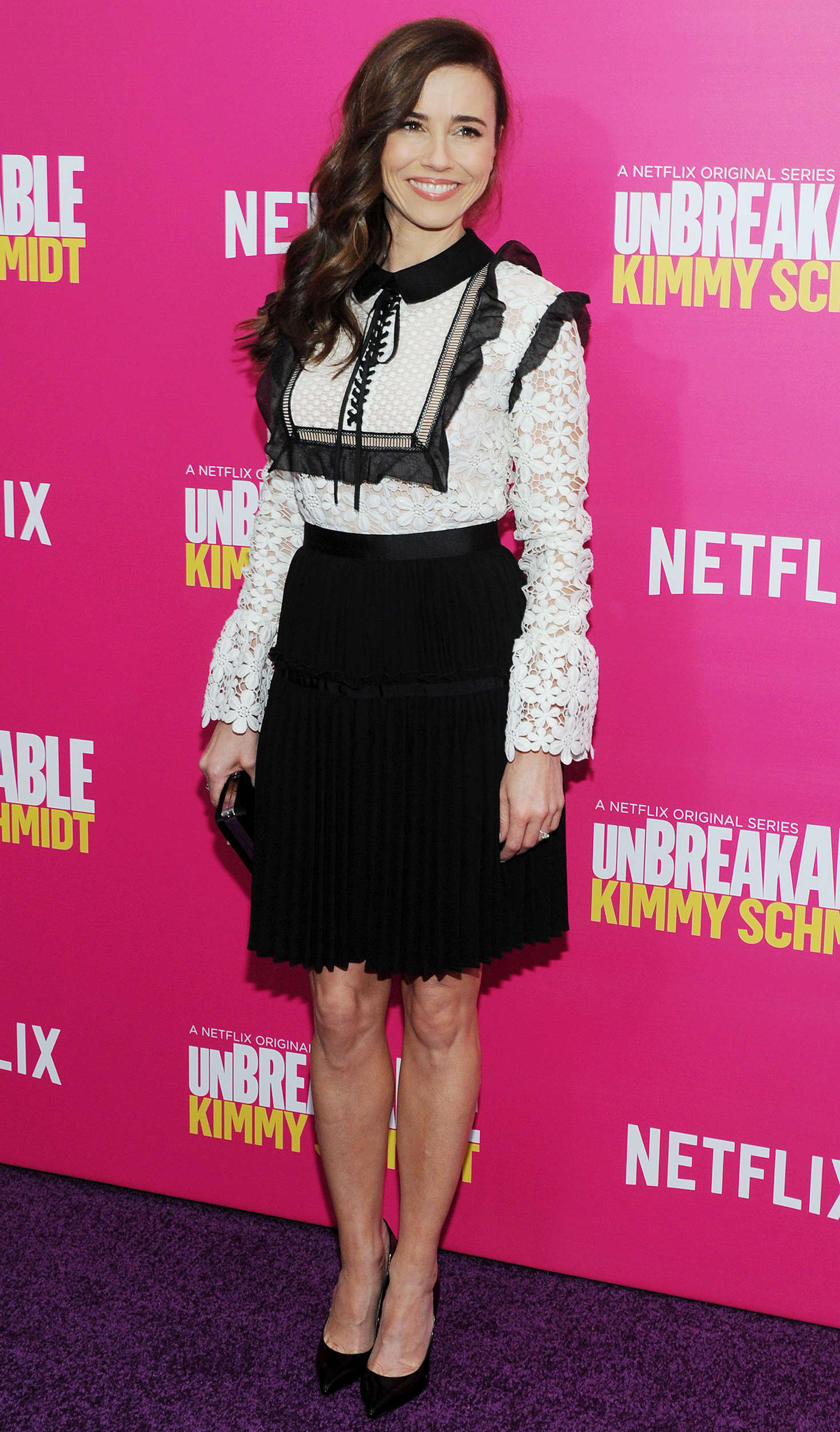 Linda Cardellini Unbreakable Kimmy Schmidt Season Premiere in New York