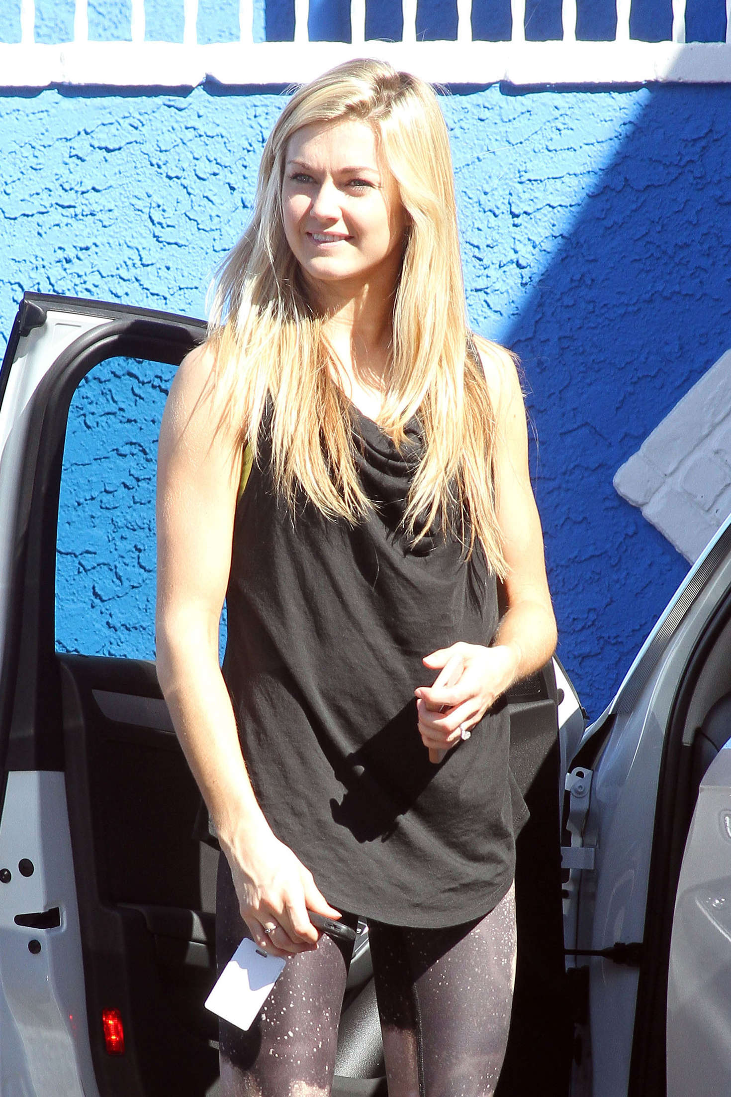 Lindsay Arnold at Dancing with the Stars studio in Hollywood