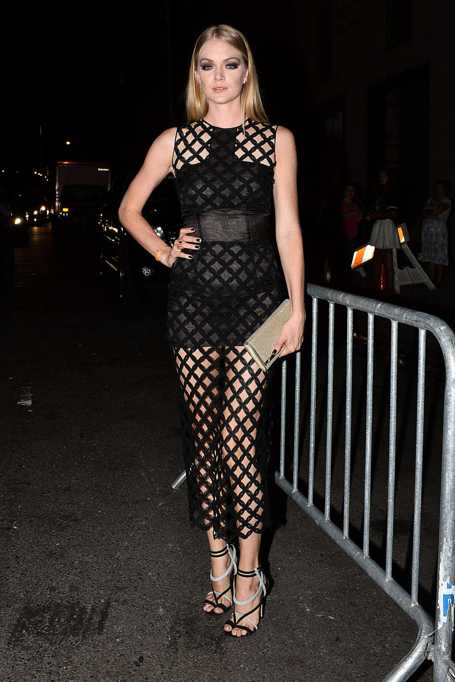 Lindsay Ellingson Harpers Bazaar ICONS Event in New York