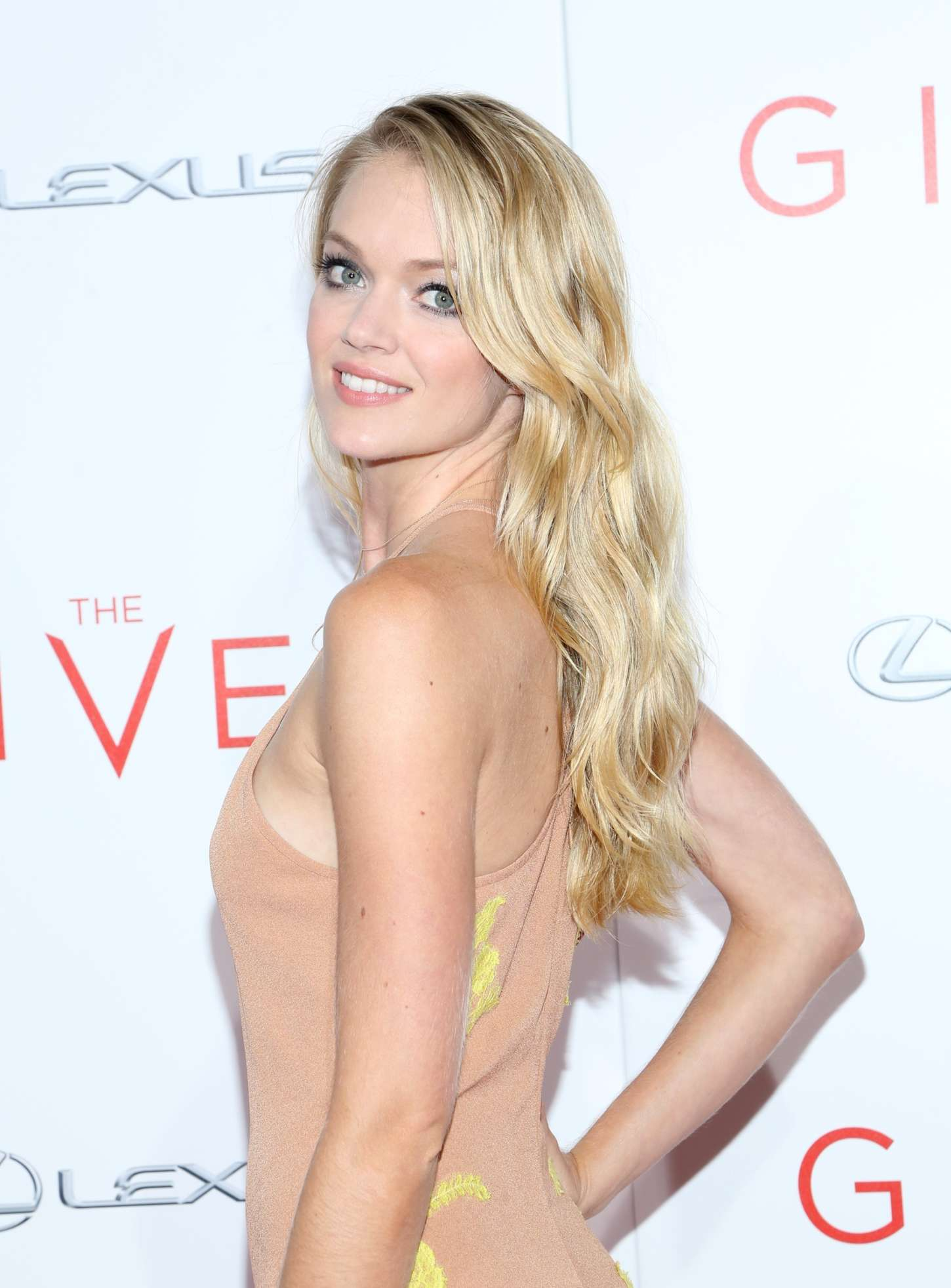 Lindsay Ellingson The Giver Premiere in New York
