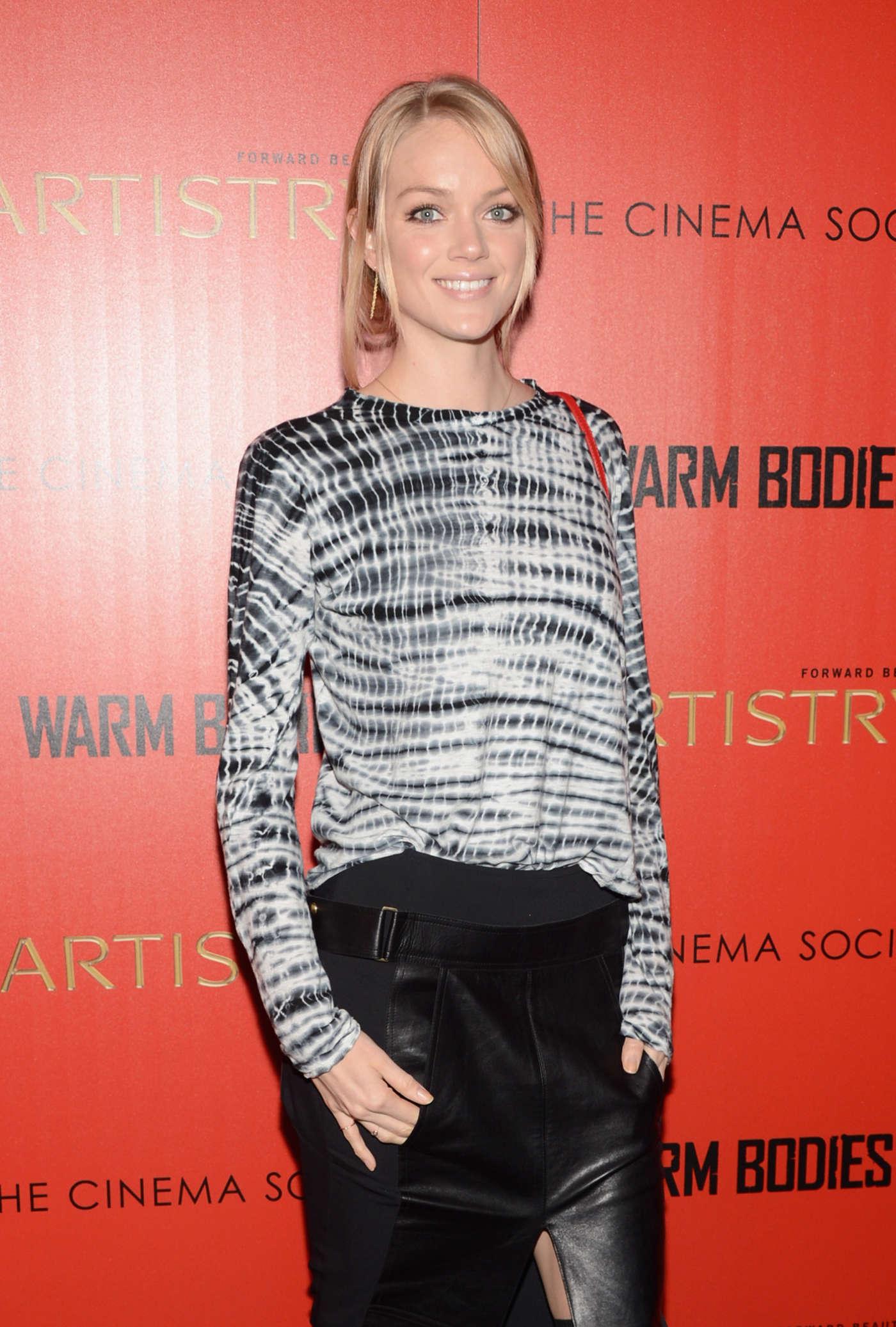 Lindsay Ellingson Warm Bodies Screening in New York
