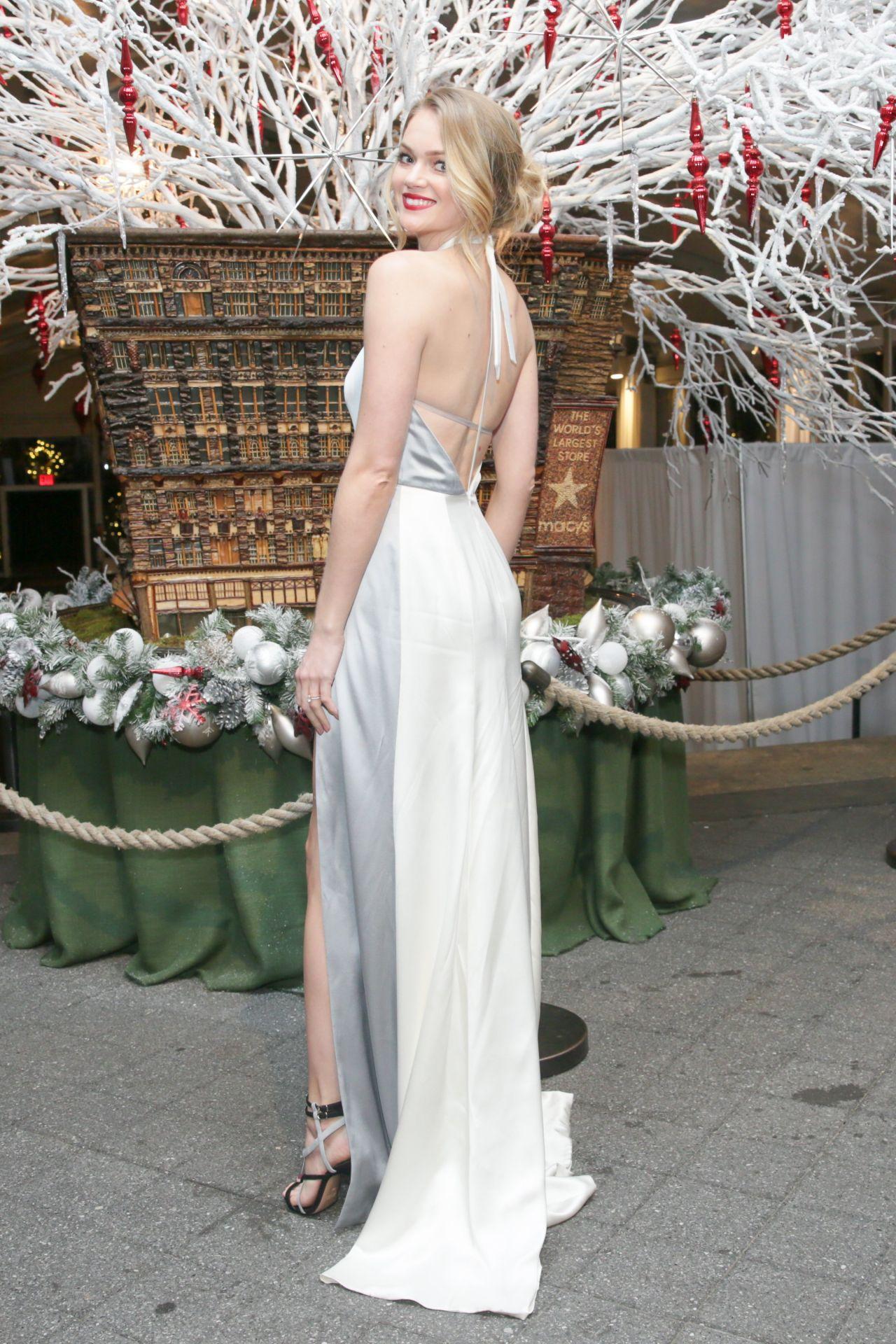 Lindsay Ellingson Winter Wonderland Ball in Bronx