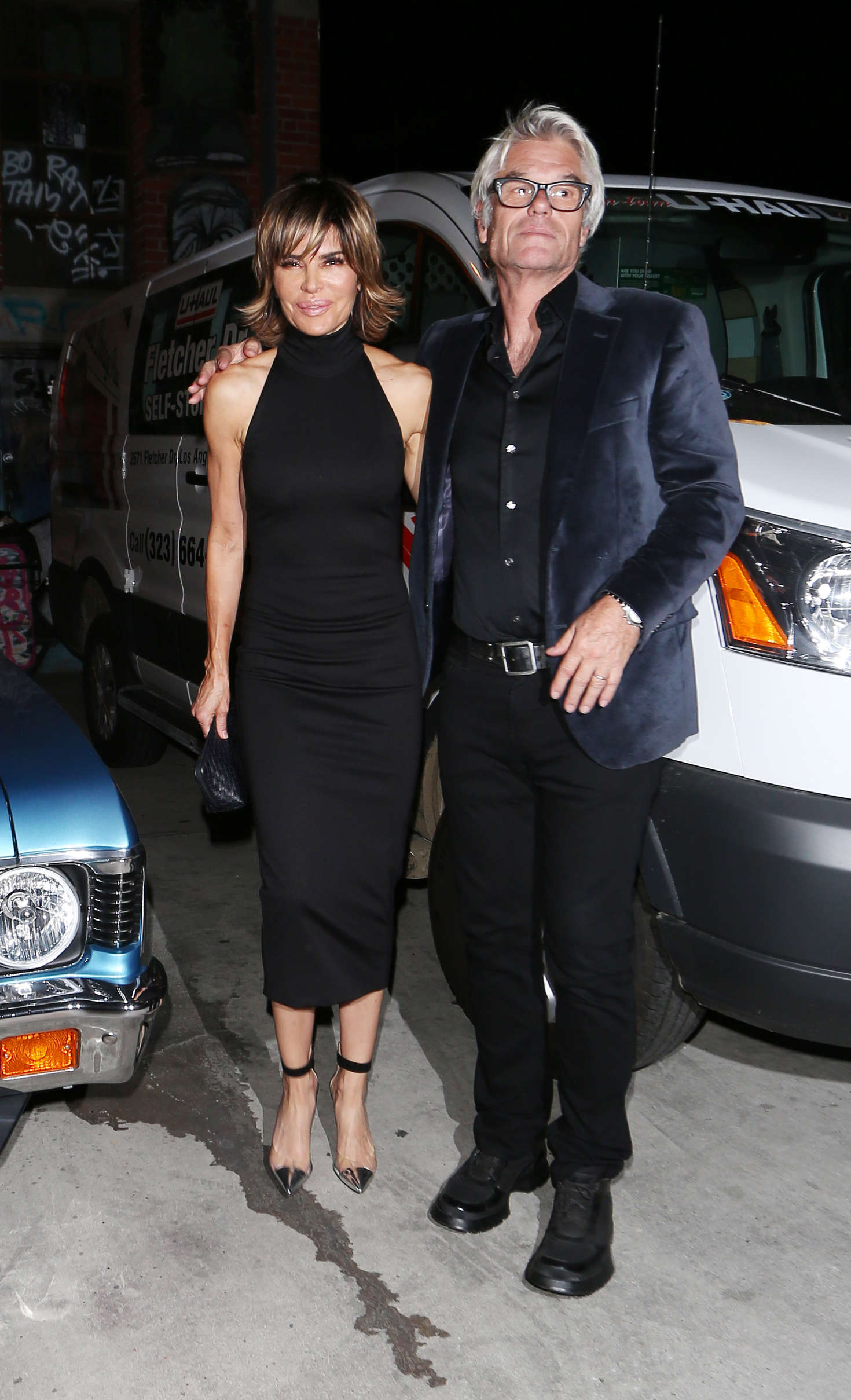 Lisa Rinna at Lady Gagas Birthday Party in Los Angeles