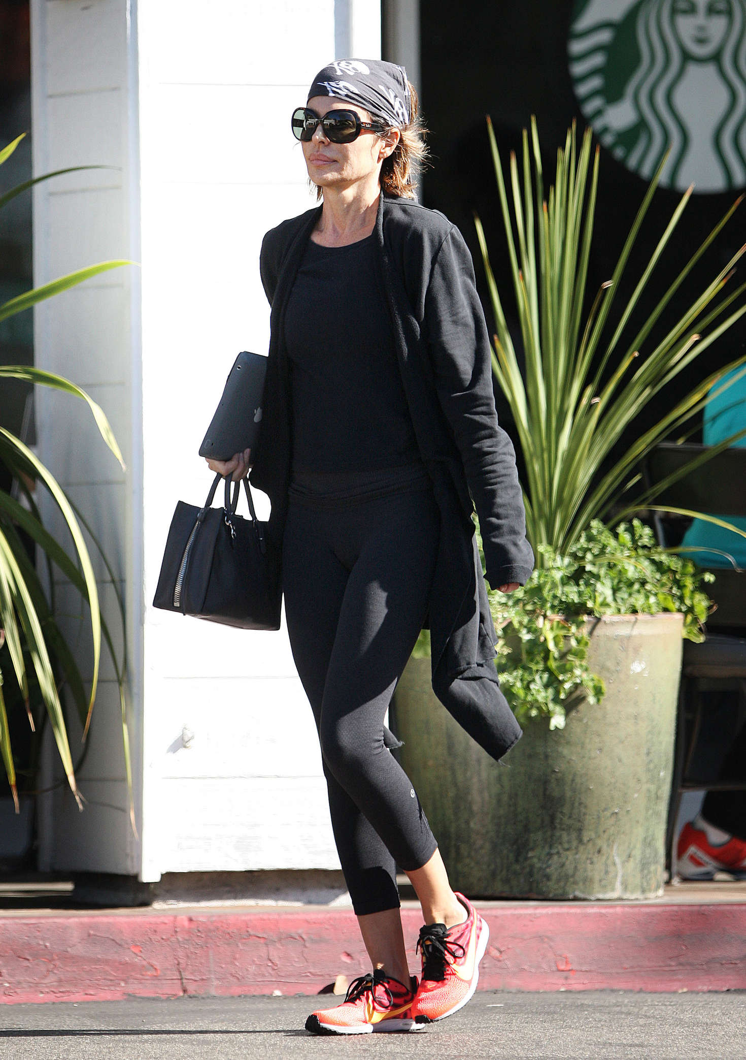 Lisa Rinna in Tights out in Los Angeles