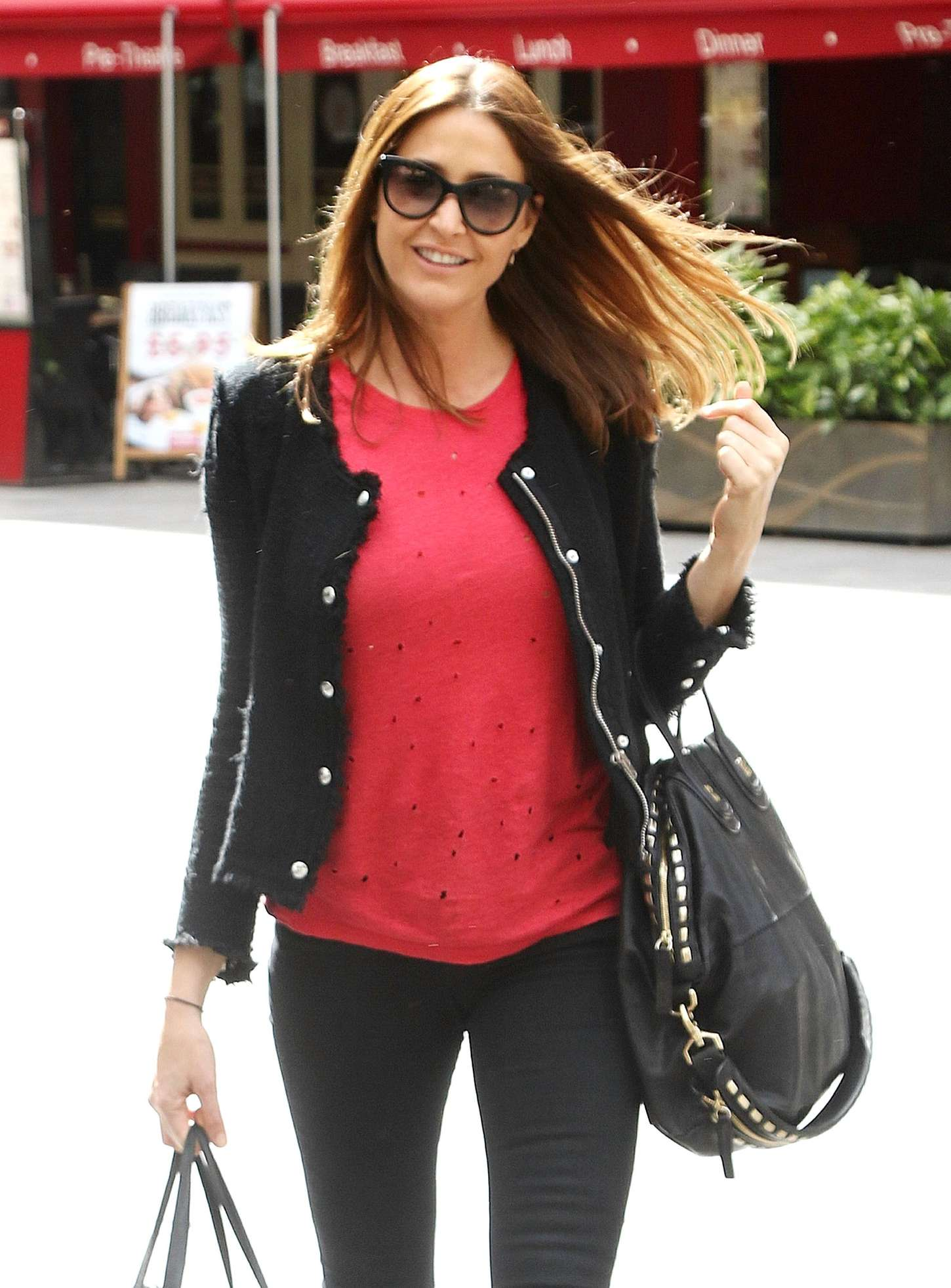 Lisa Snowdon at Capital FM Studios in London