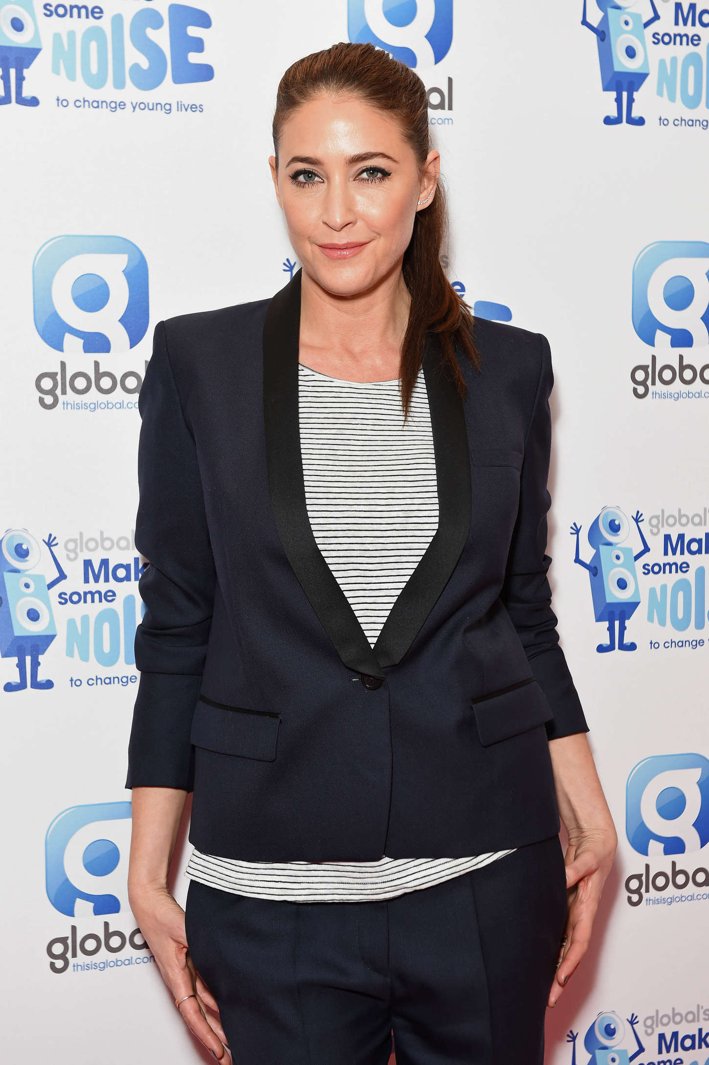 Lisa Snowdon Global Make Some Noise Event in London