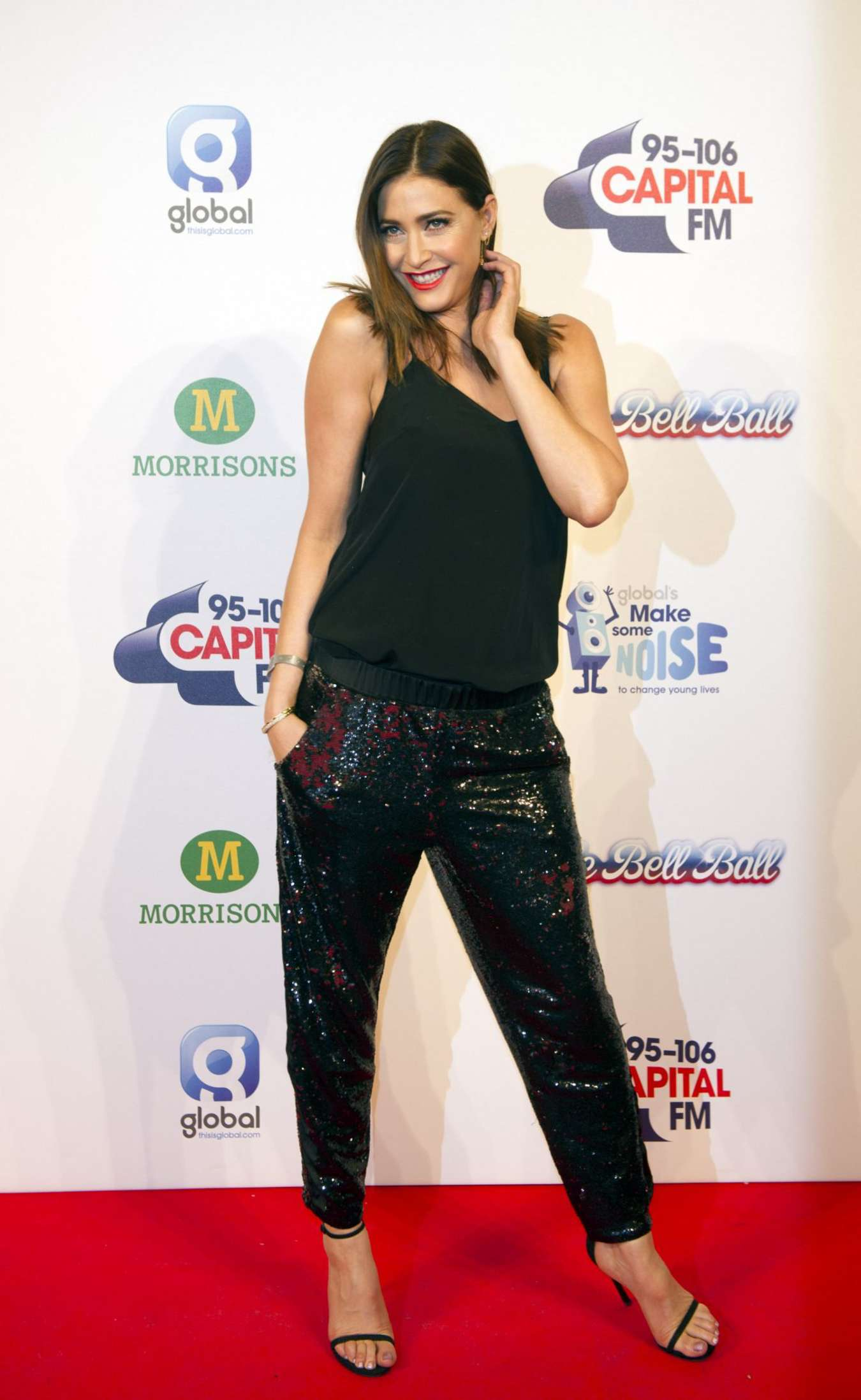 Lisa Snowdon KIIS FMs Jingle Bell Ball Event in London