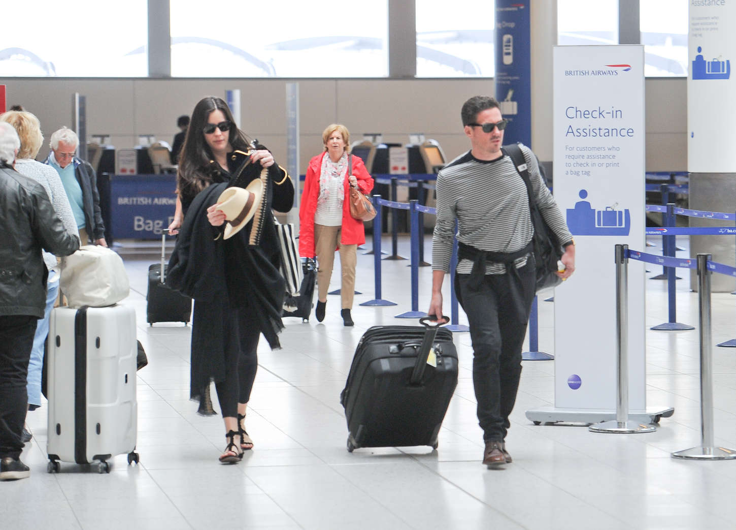 Liv Tyler at Gatwick Airport in Crawley