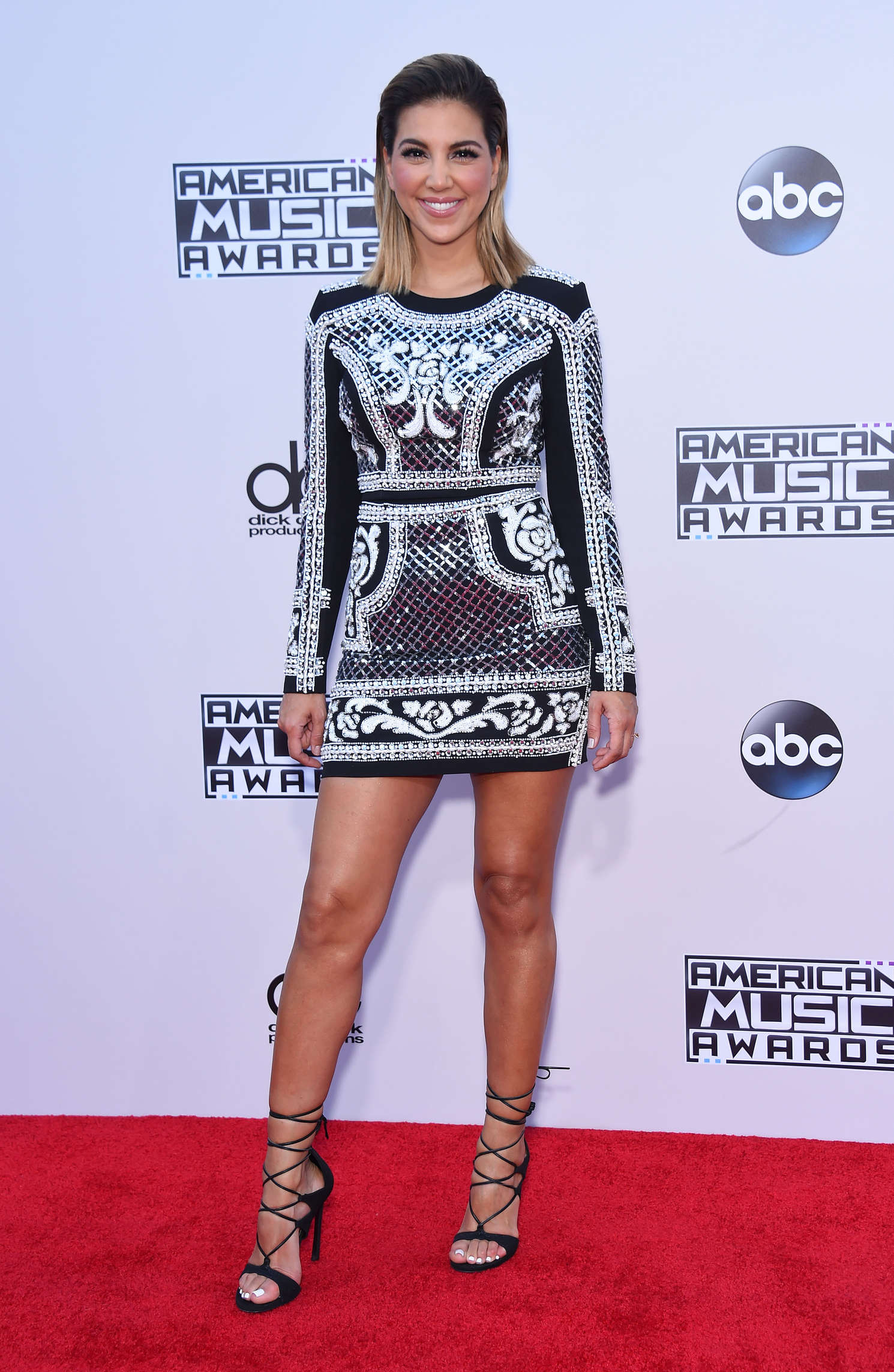 Liz Hernandez American Music Awards in Los Angeles