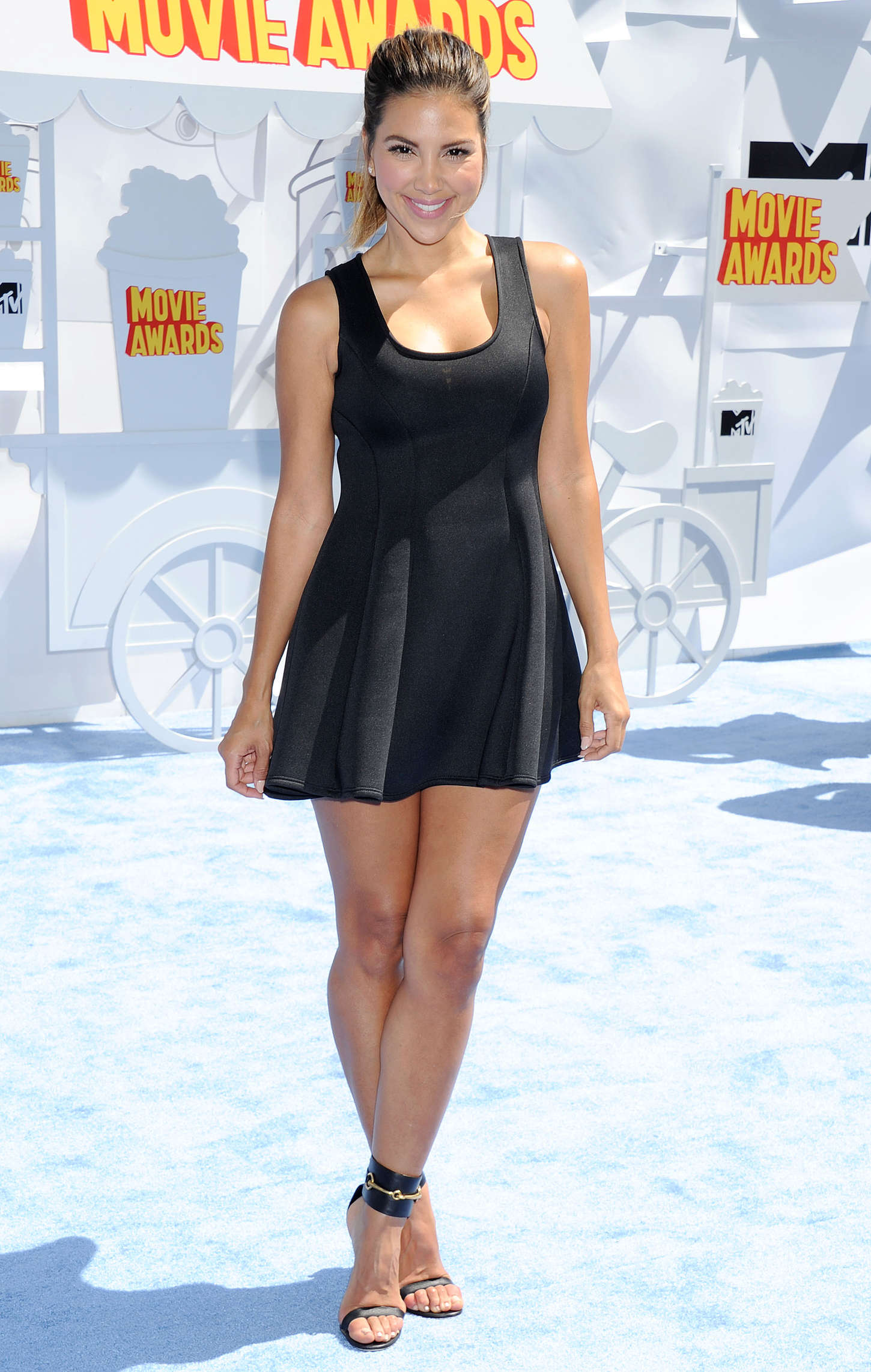 Liz Hernandez MTV Movie Awards in Los Angeles