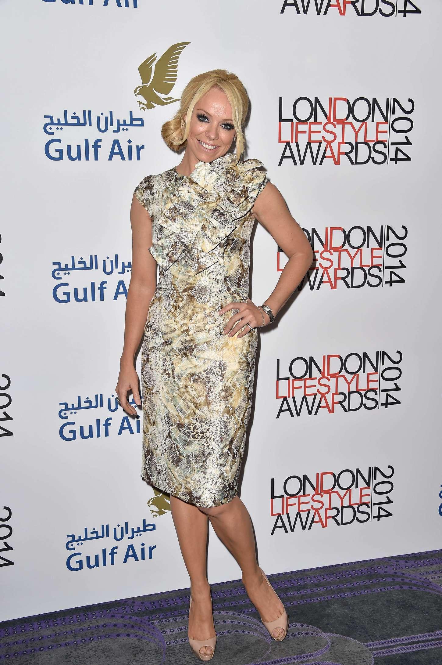 Liz McClarnon at London Lifestyle Awards