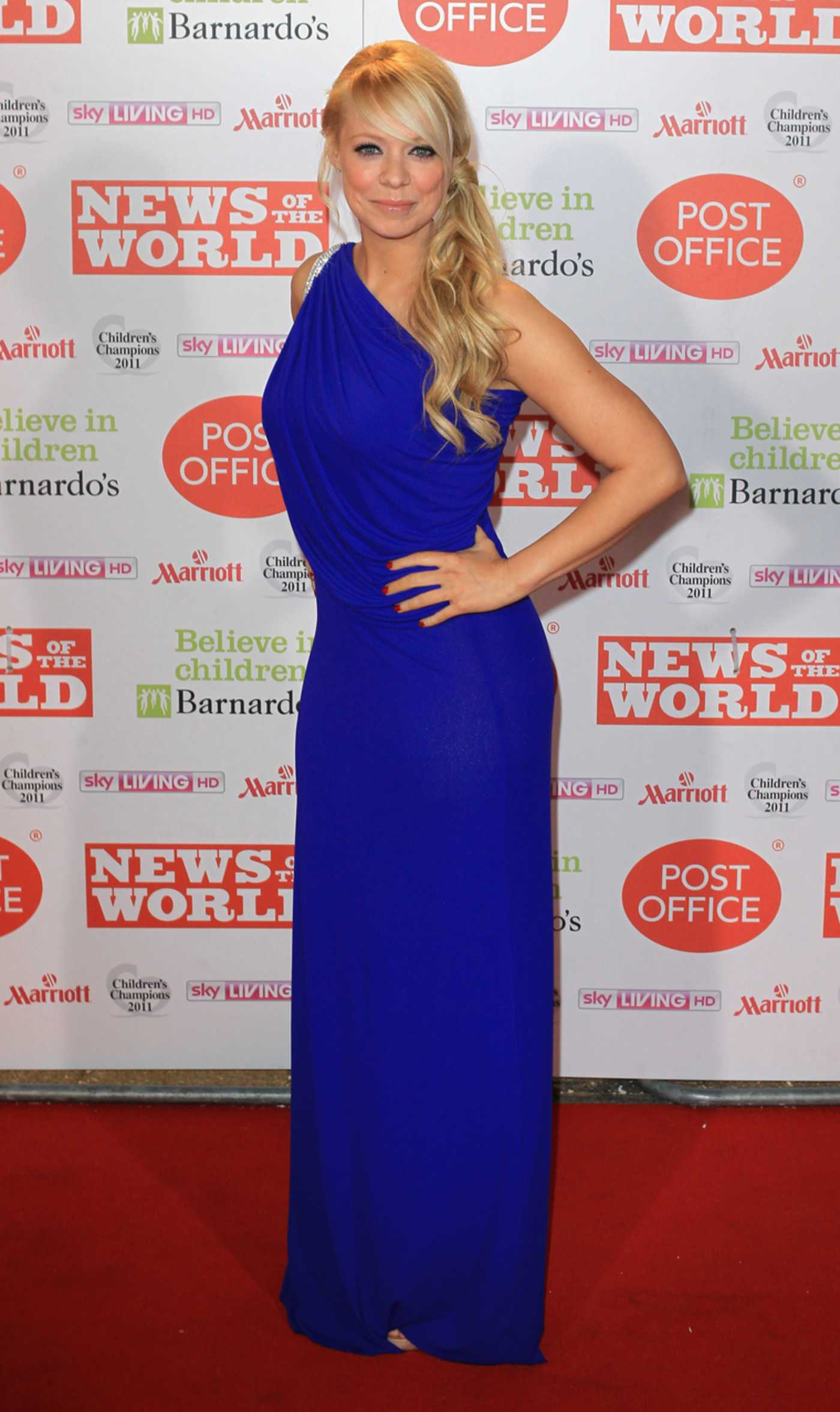 Liz McClarnon at News Of The World Childrens Champion Awards