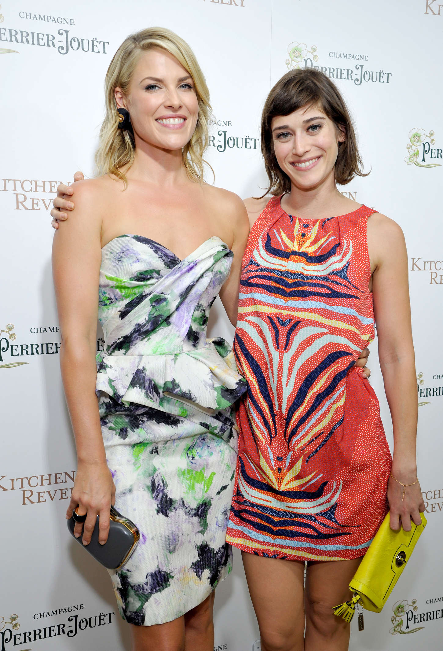 Lizzy Caplan Ali Larters Kitchen Revelry cookbook launch