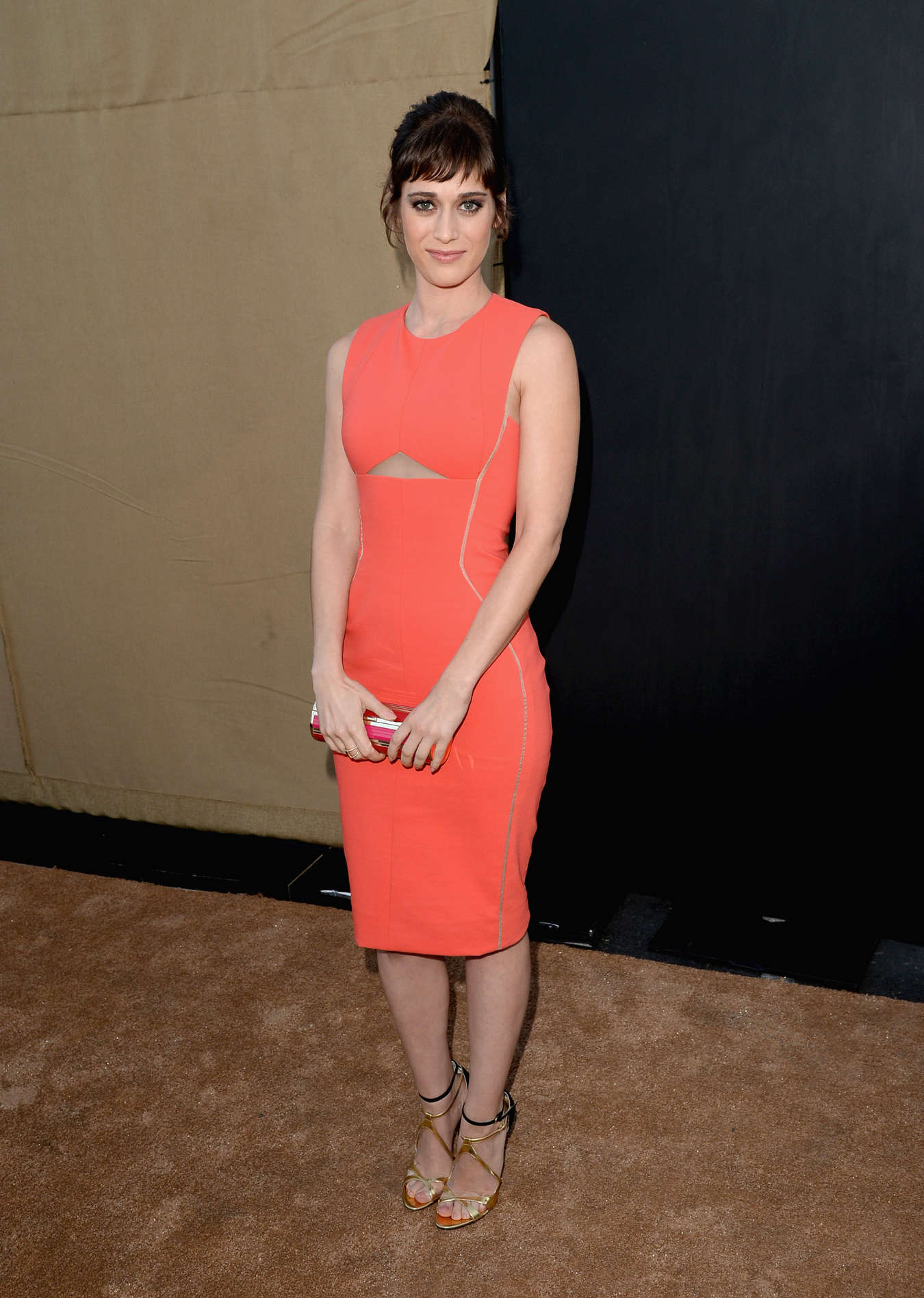 Lizzy Caplan CW CBS and Showtime Summer TCA Party