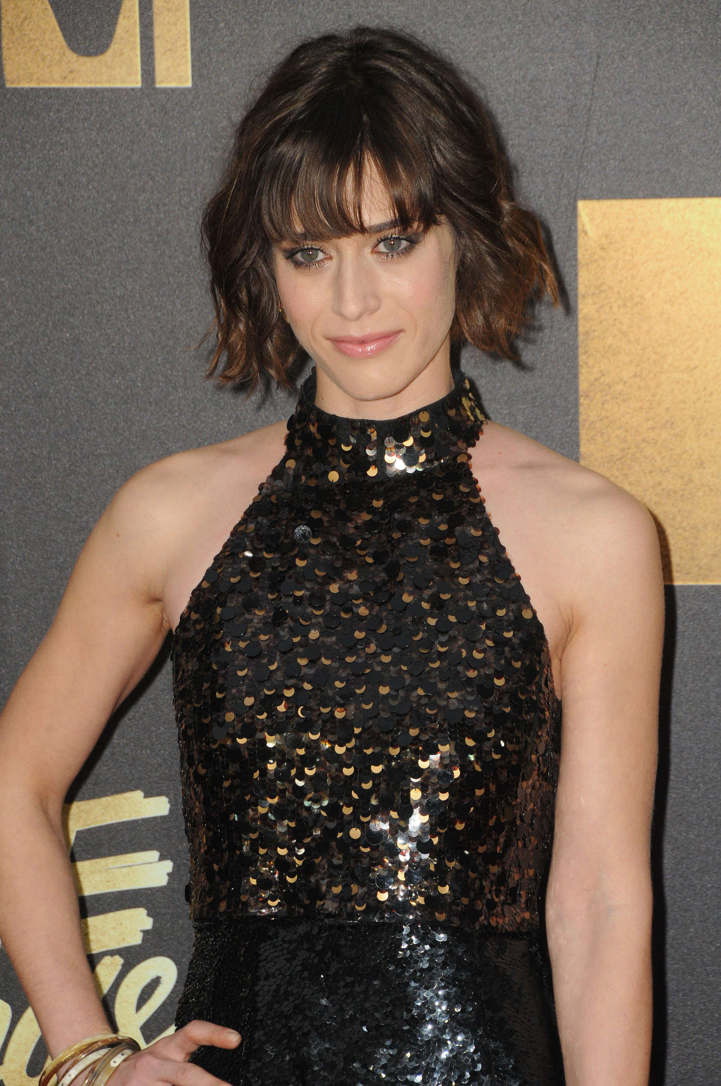 Lizzy Caplan MTV Movie Awards in Burbank