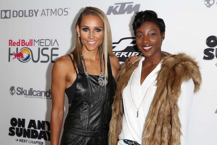 Lolo Jones Premiere On Any Sunday The Next Chapter in Hollywood