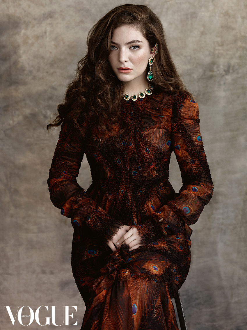 Lorde Vogue Australia Magazine
