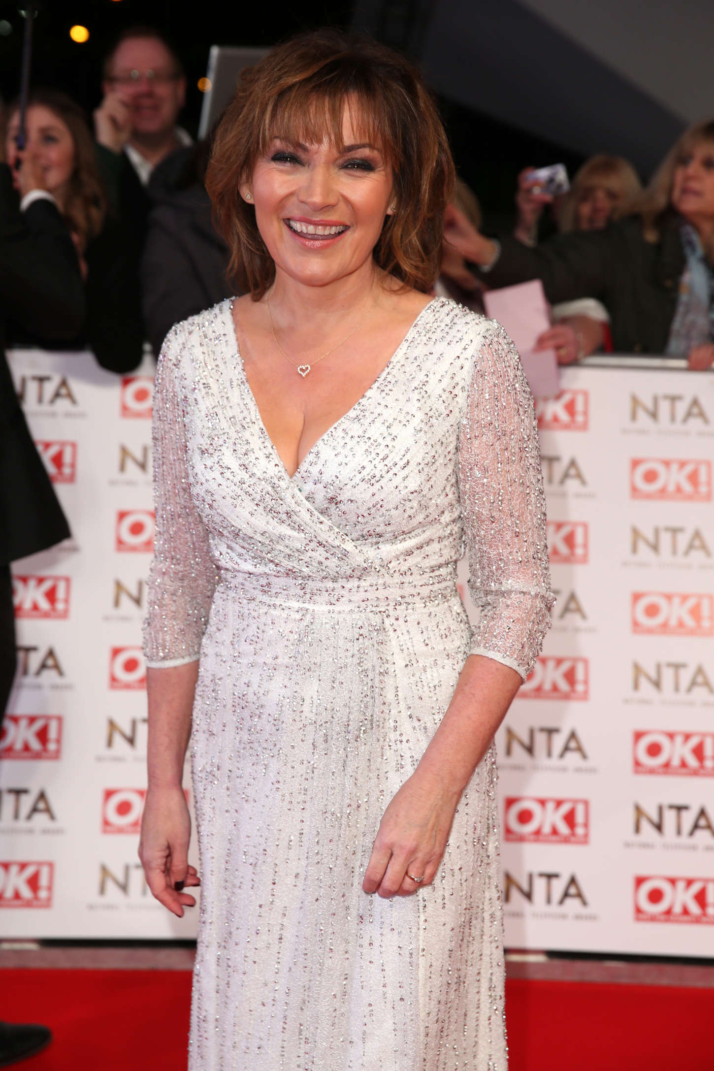 Lorraine Kelly National Television Awards in London