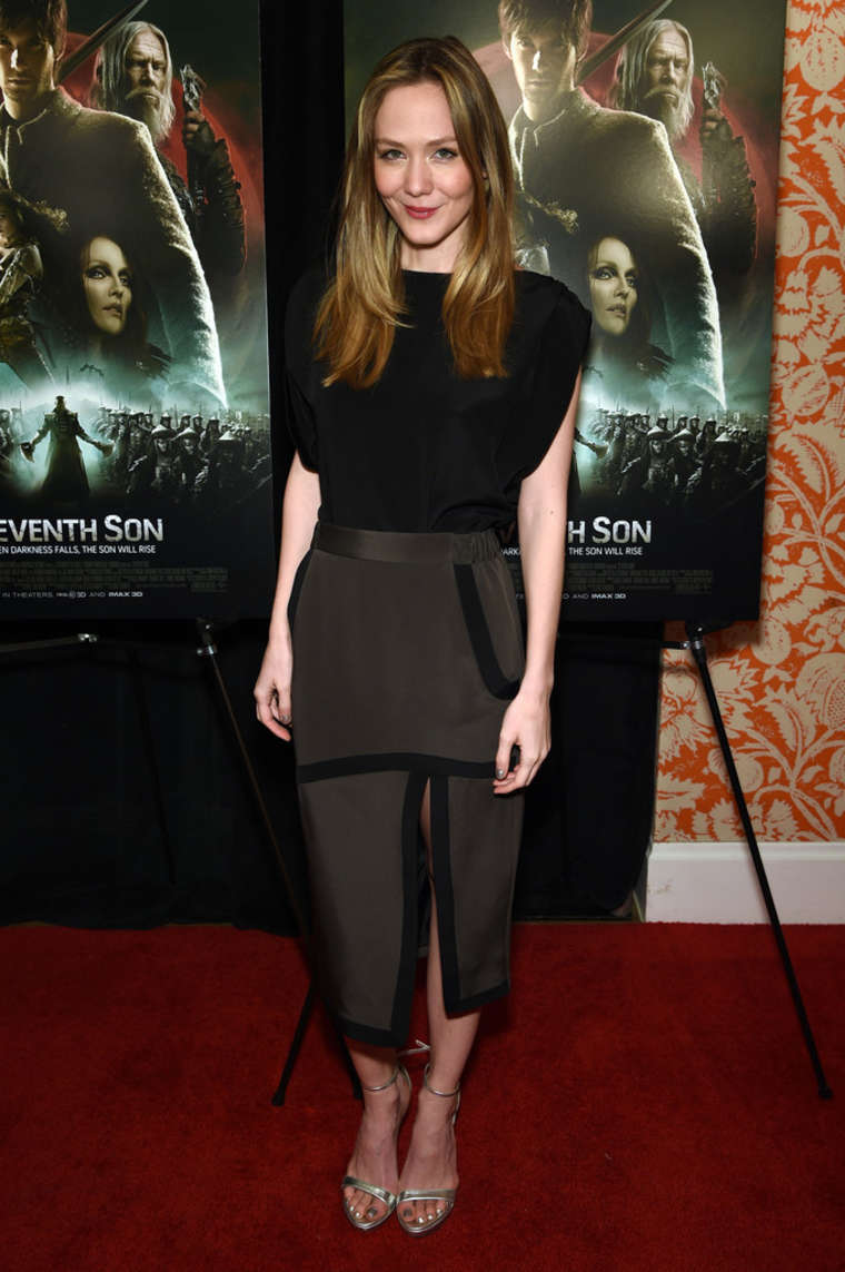 Louisa Krause Seventh Son Special Screening in New York