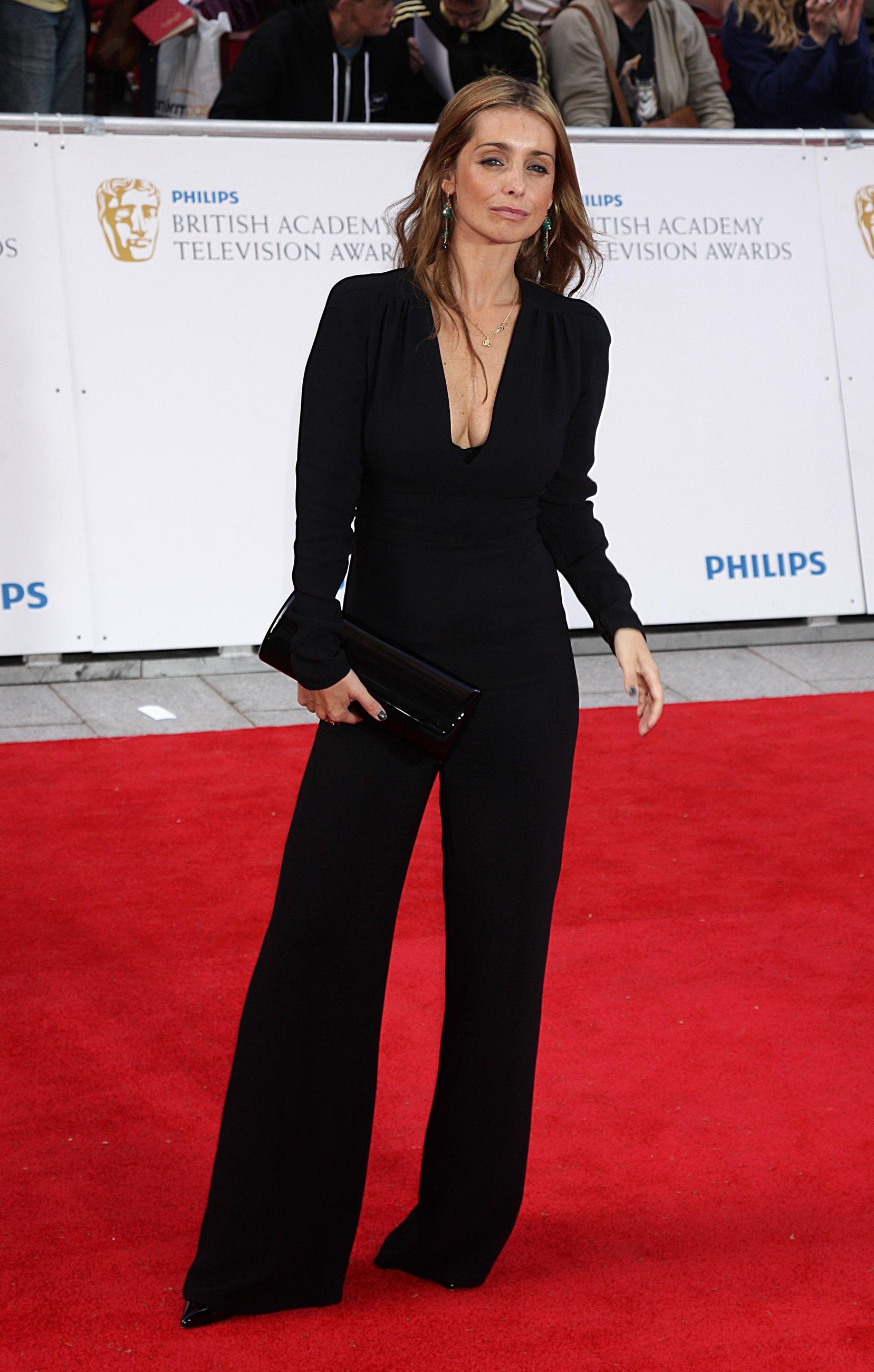 Louise Redknapp The Bafta Awards
