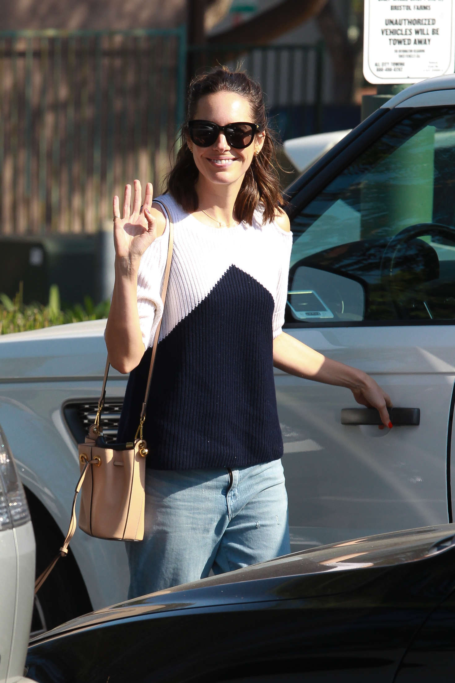 Louise Roe Leaving Bristol Farms in Beverly Hills