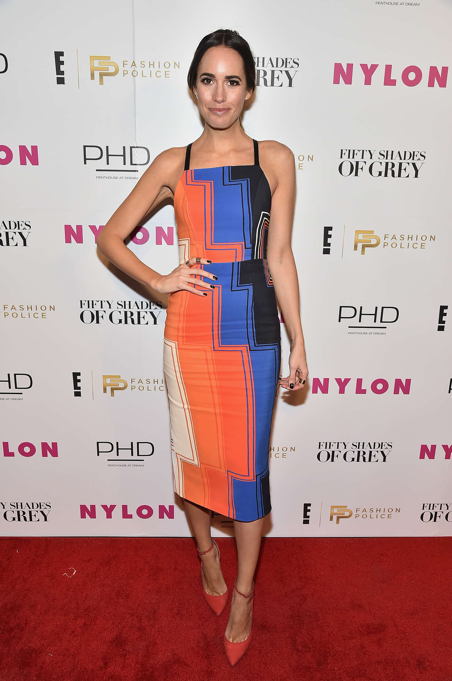 Louise Roe New York Fashion Week Kickoff With Fifty Shades Of Fashion Event in New York