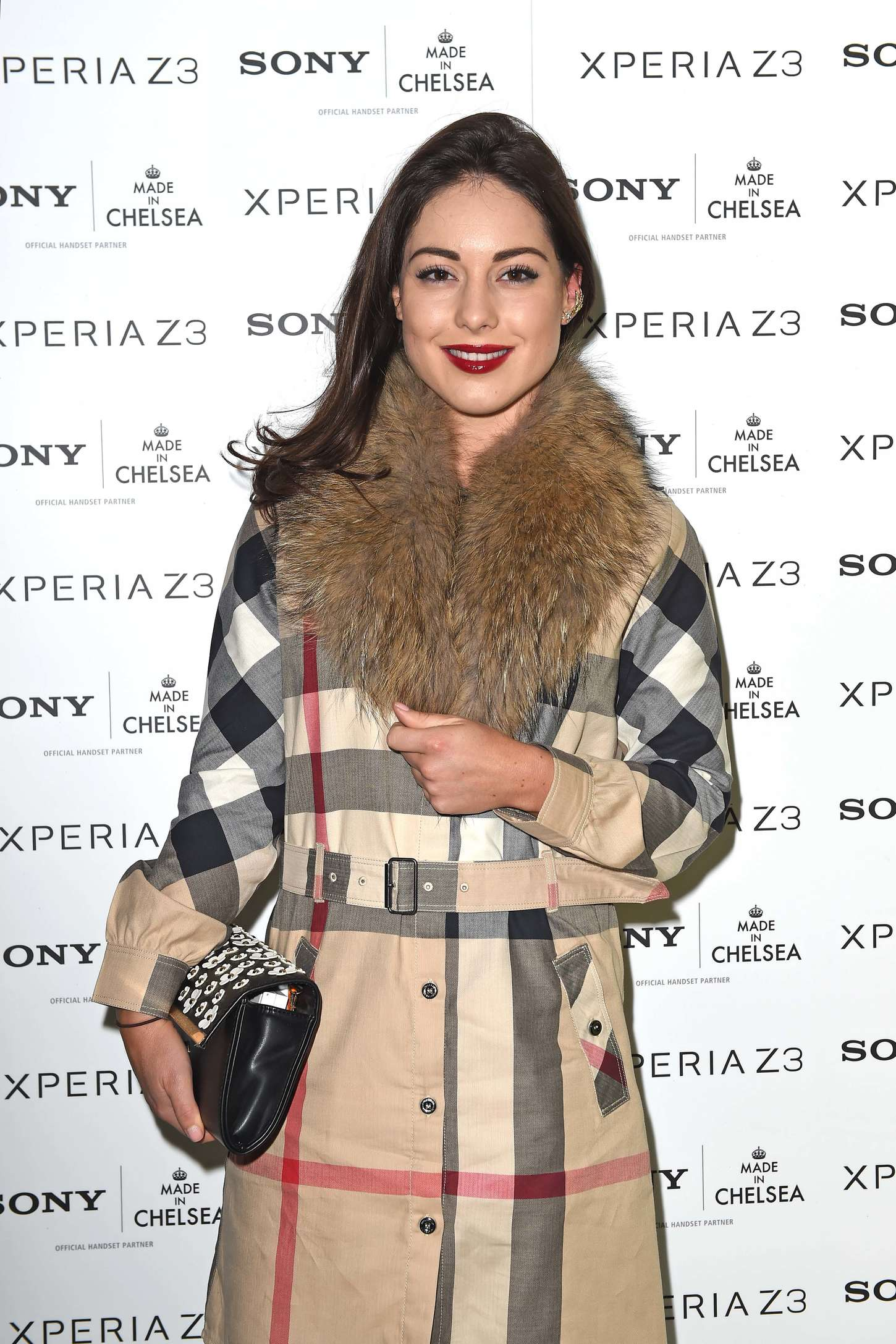 Louise Thompson Sony Pool Party at the Haymarket Hotel in London