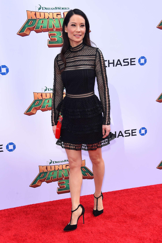 Lucy Liu Kung Fu Panda Premiere in Hollywood