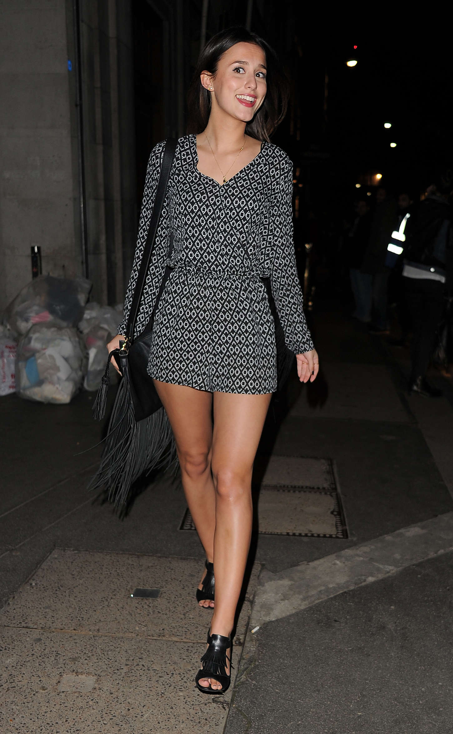 Lucy Watson The Sun Bizarre Party in London