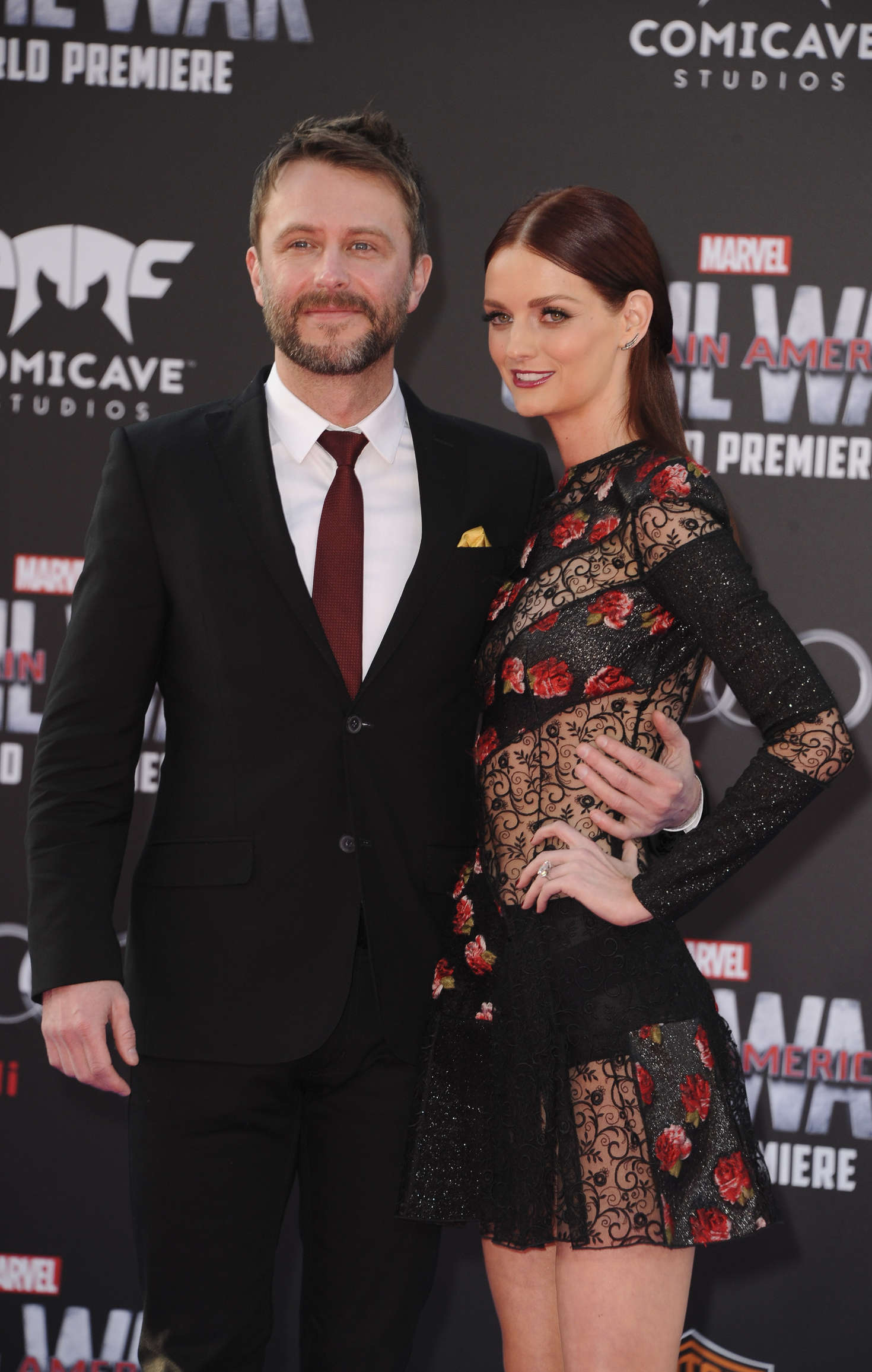 Lydia Hearst Captain America Civil War Premiere in Hollywood