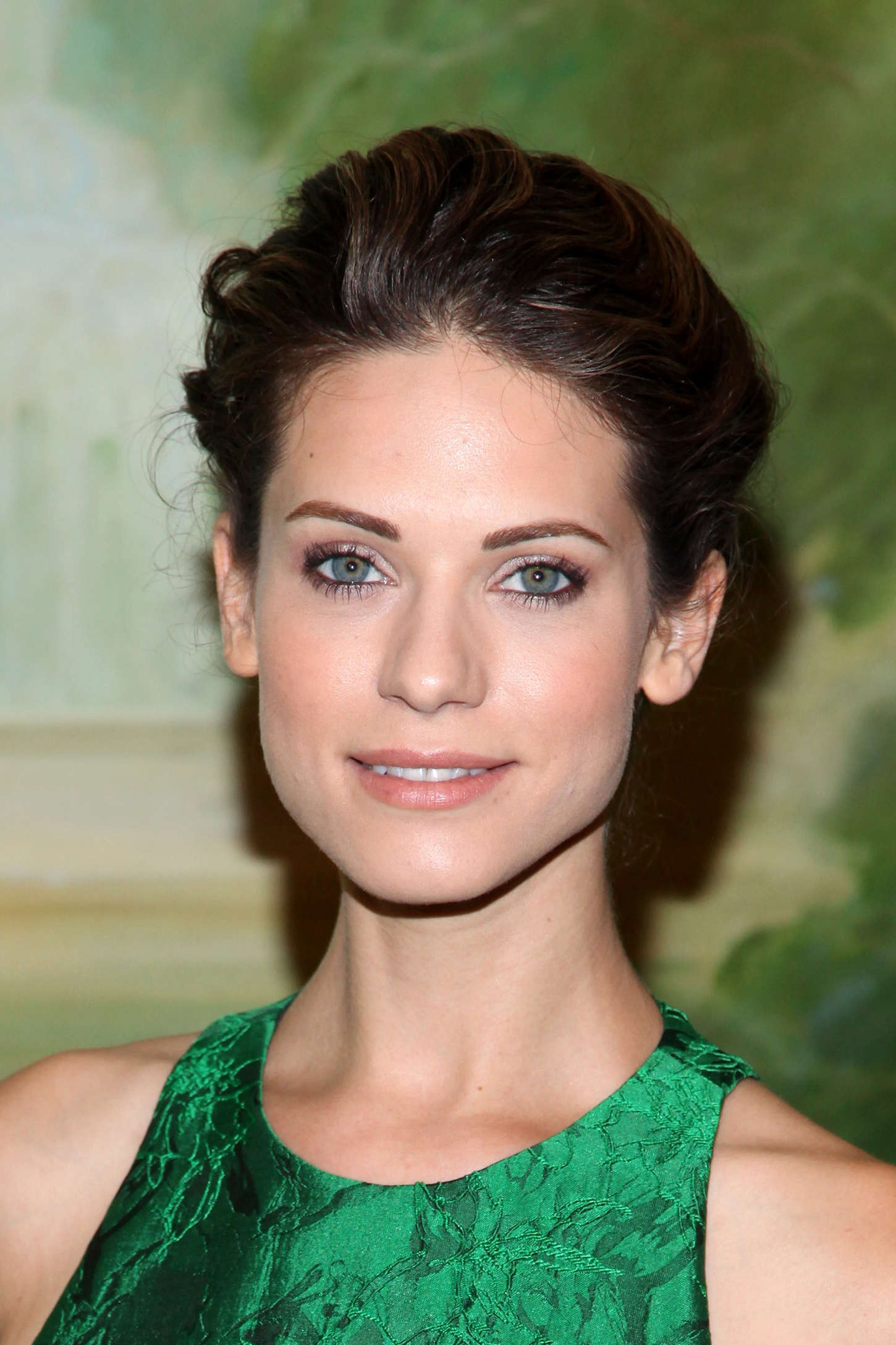 Lyndsy Fonseca Alice Olivia Fashion Show in New York