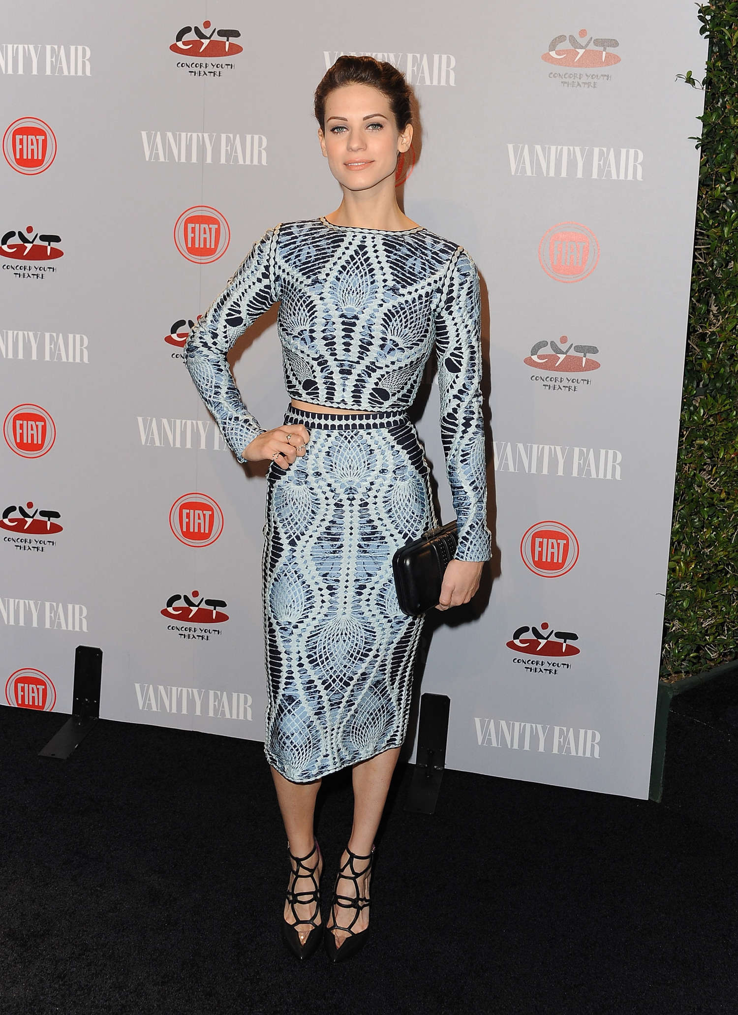 Lyndsy Fonseca Vanity Fair FIAT Young Hollywood Event in Los Angeles