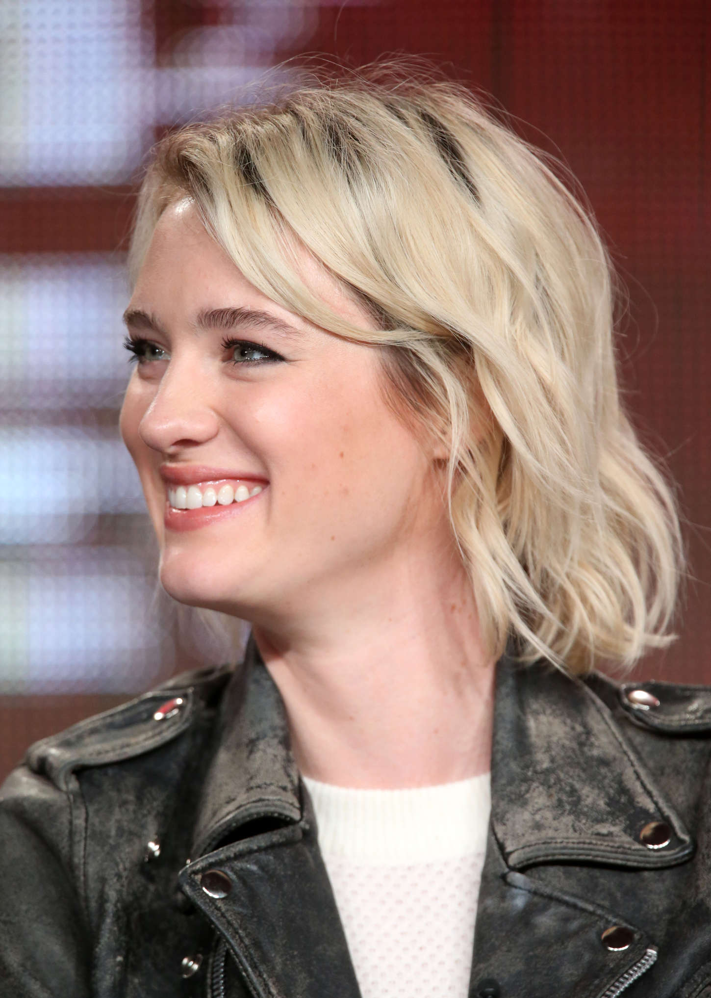 Mackenzie Davis Halt and Catch Fire Panel TCA Press Tour in Pasadena