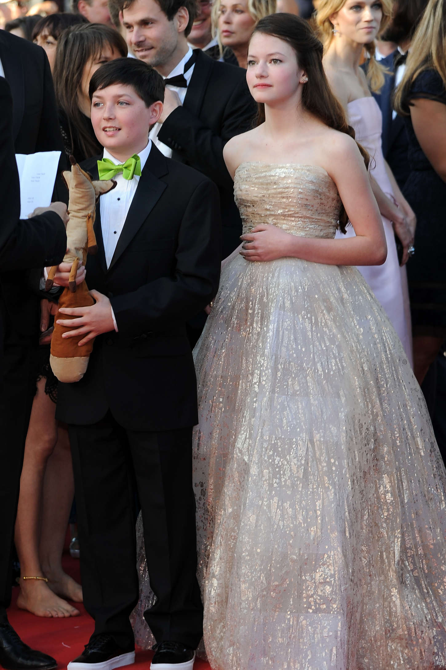 Mackenzie Foy The Little Prince Premiere in Cannes