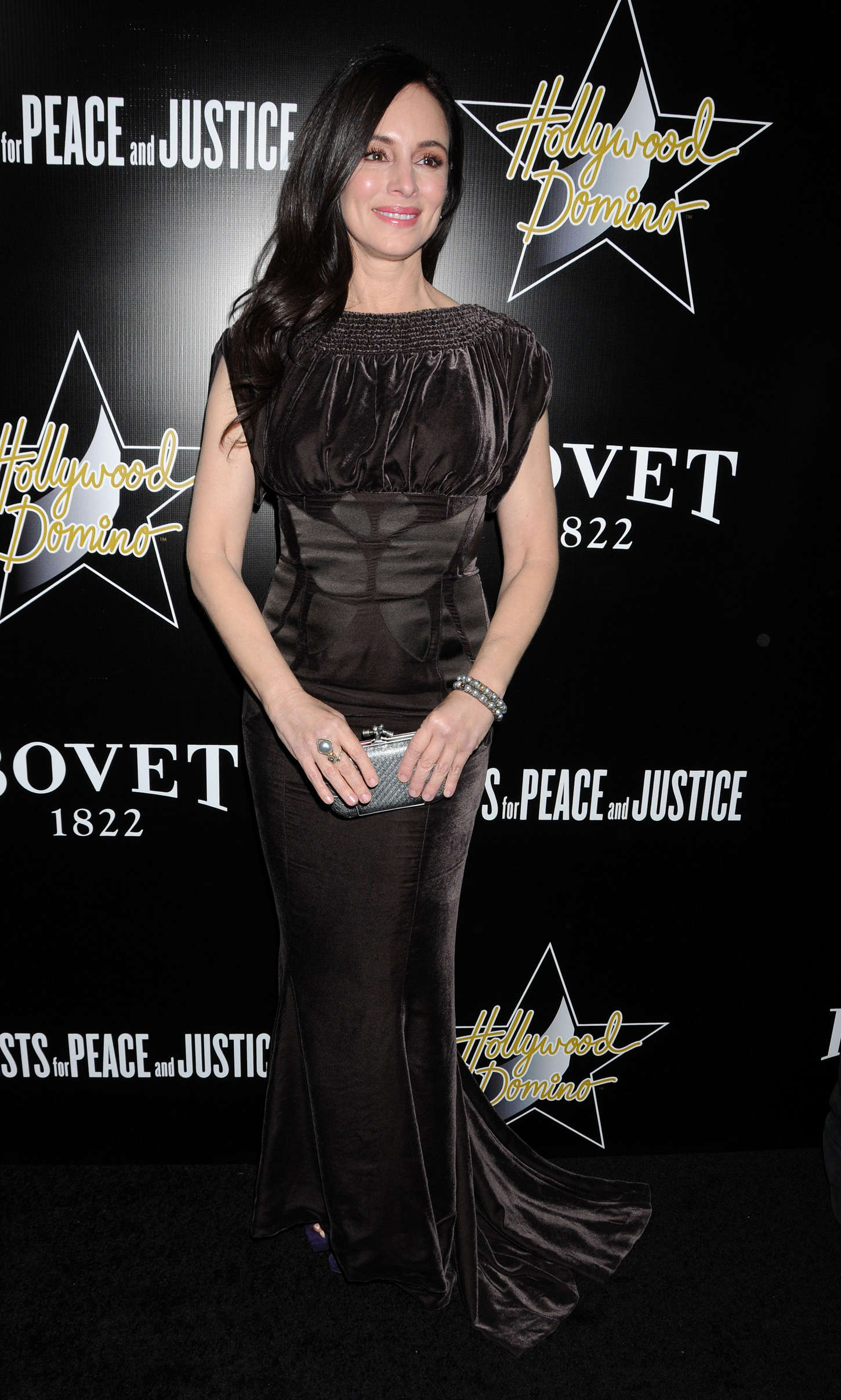 Madeleine Stowe Domino Bovet Gala in Hollywood
