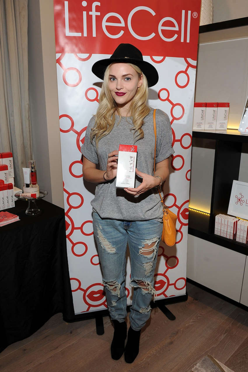 Madeline Brewer GBK and LifeCell Pre Oscar Lounge in West Hollywood
